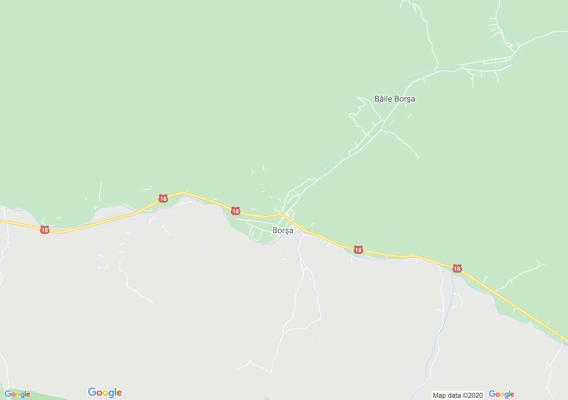 Borşa, Harta turistică interactivă