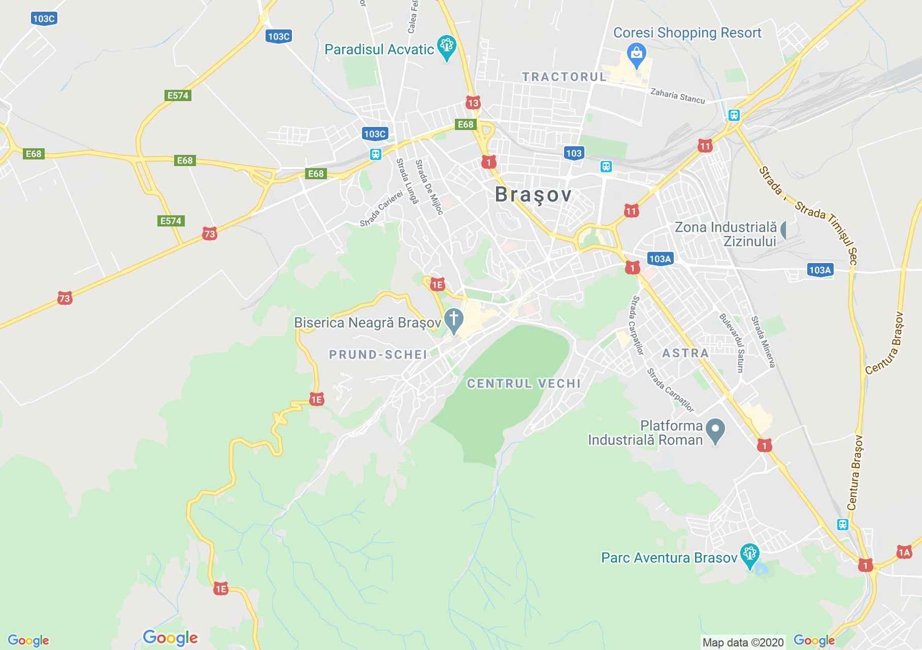 Brasov Interactive Tourist Map