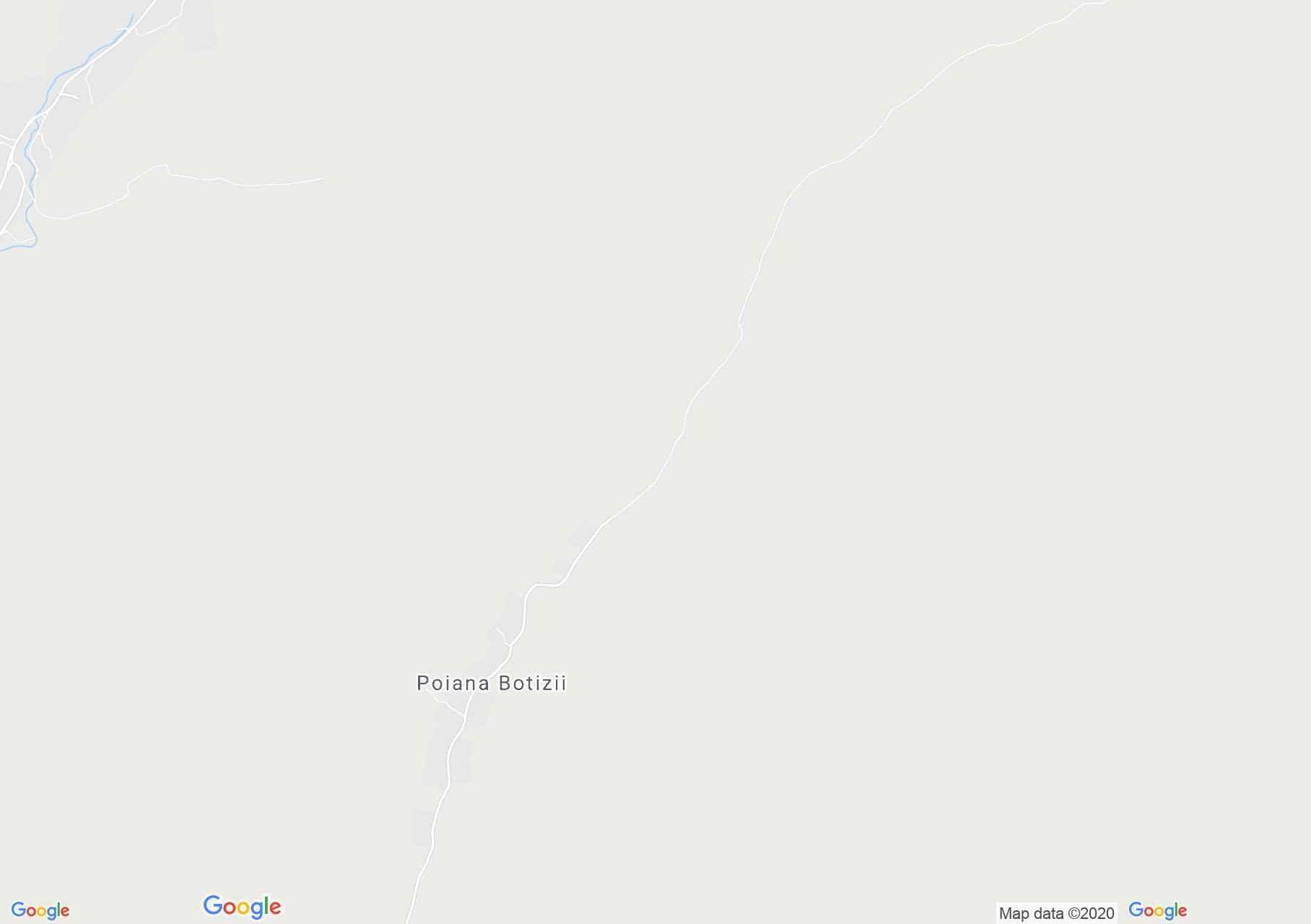 Poiana Botizii, Interactive tourist map