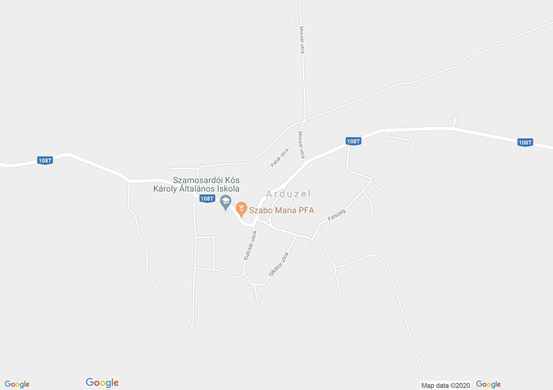 Arduzel, Harta turistică interactivă