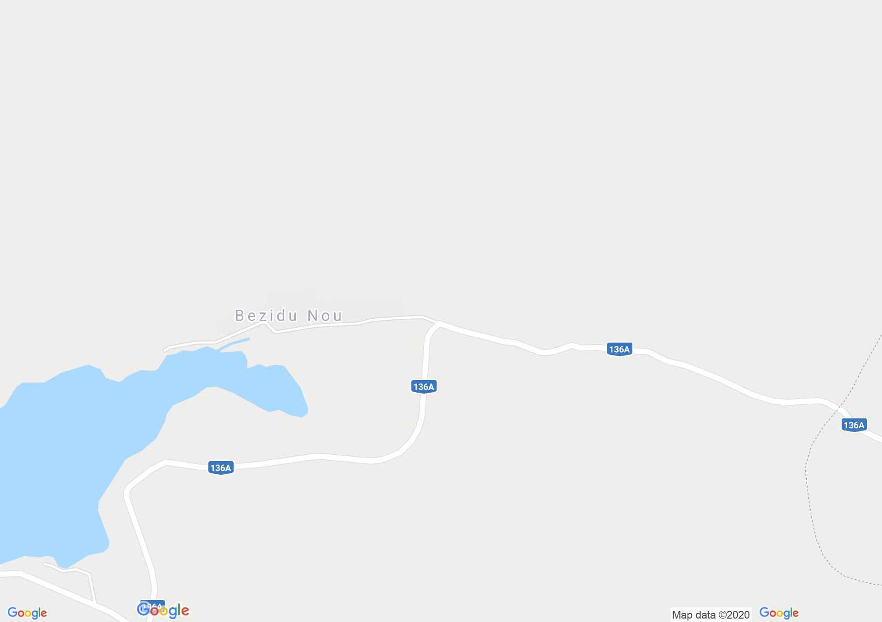 Bezidu Nou, Lake Bezid, Interactive tourist map