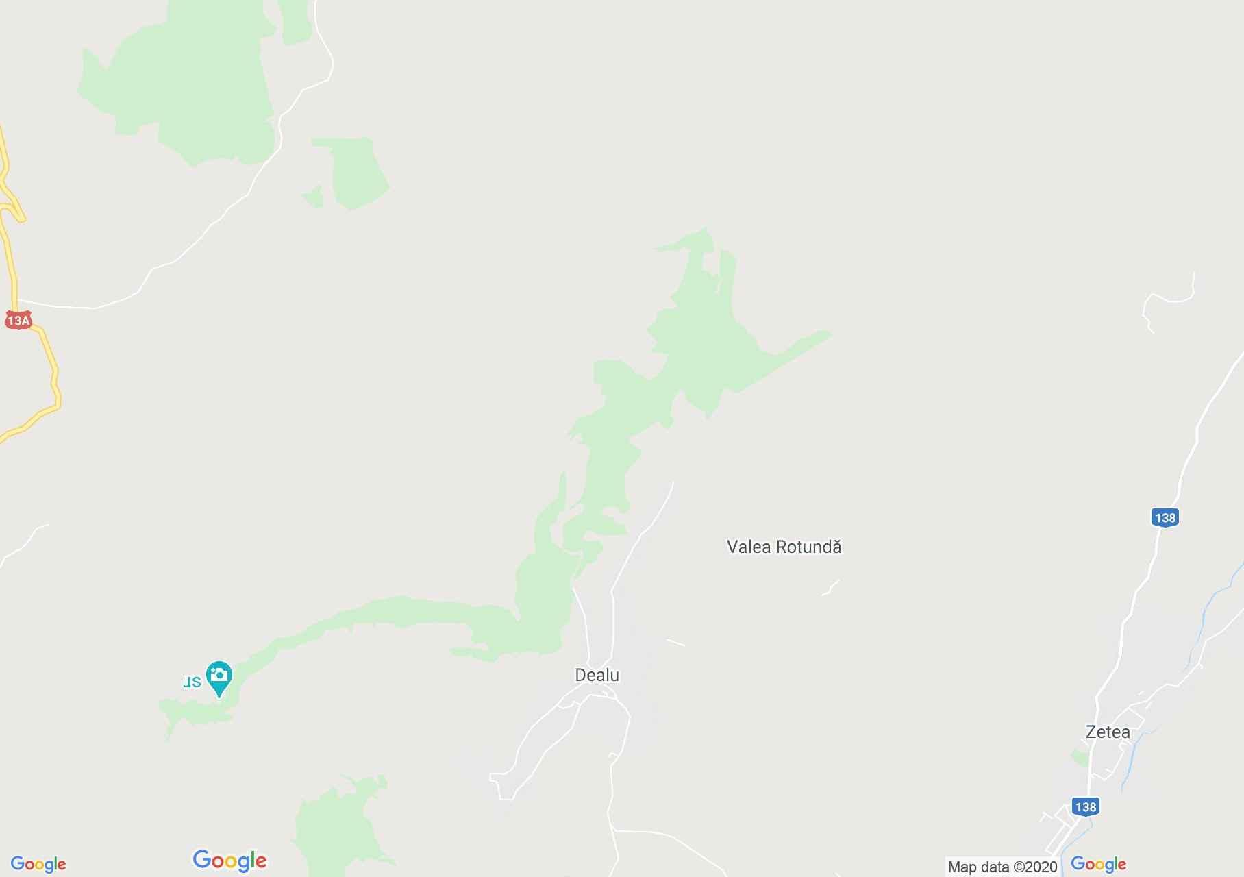 Dealu, Harta turistică interactivă