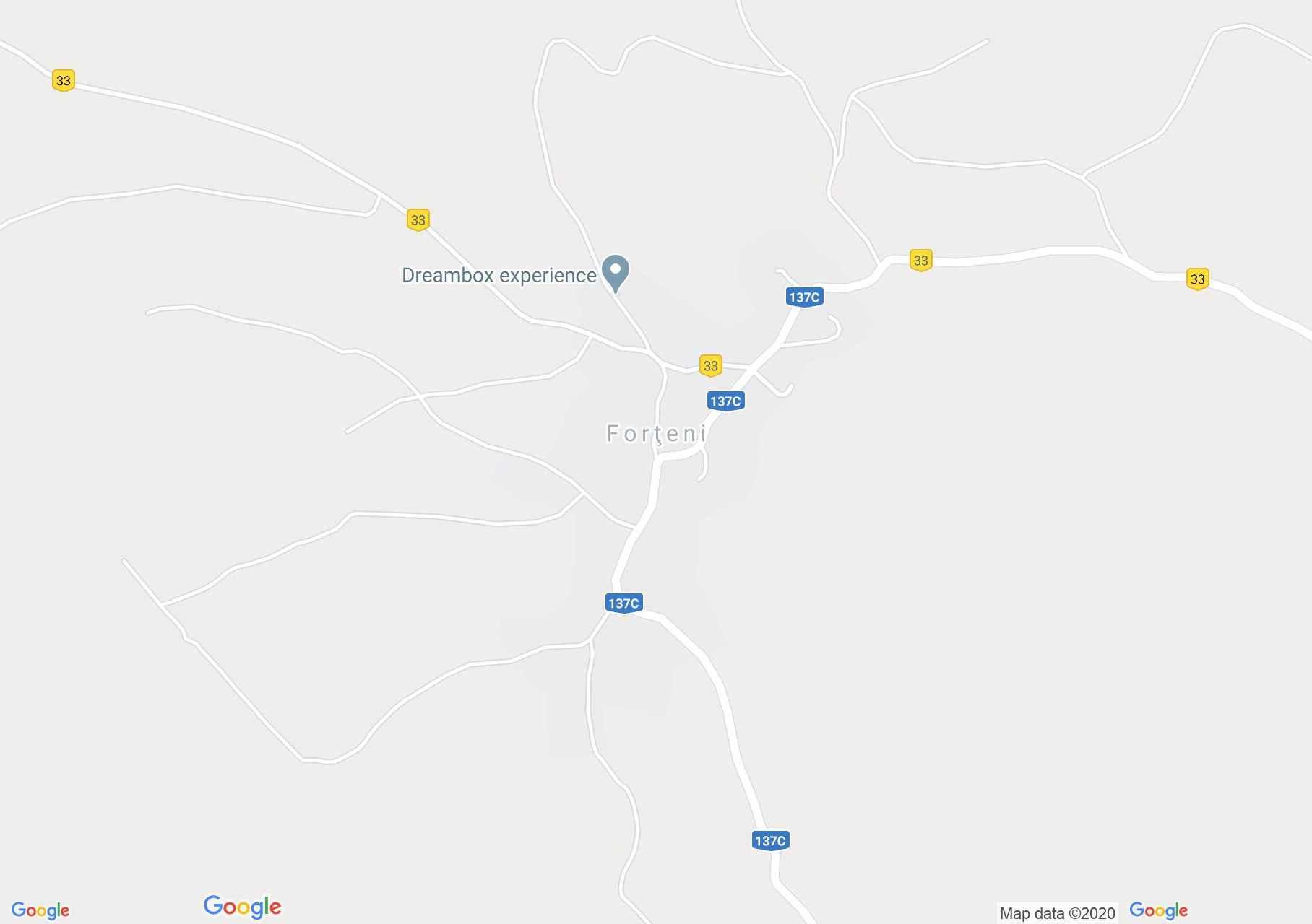 Farcád interaktív turista térképe.