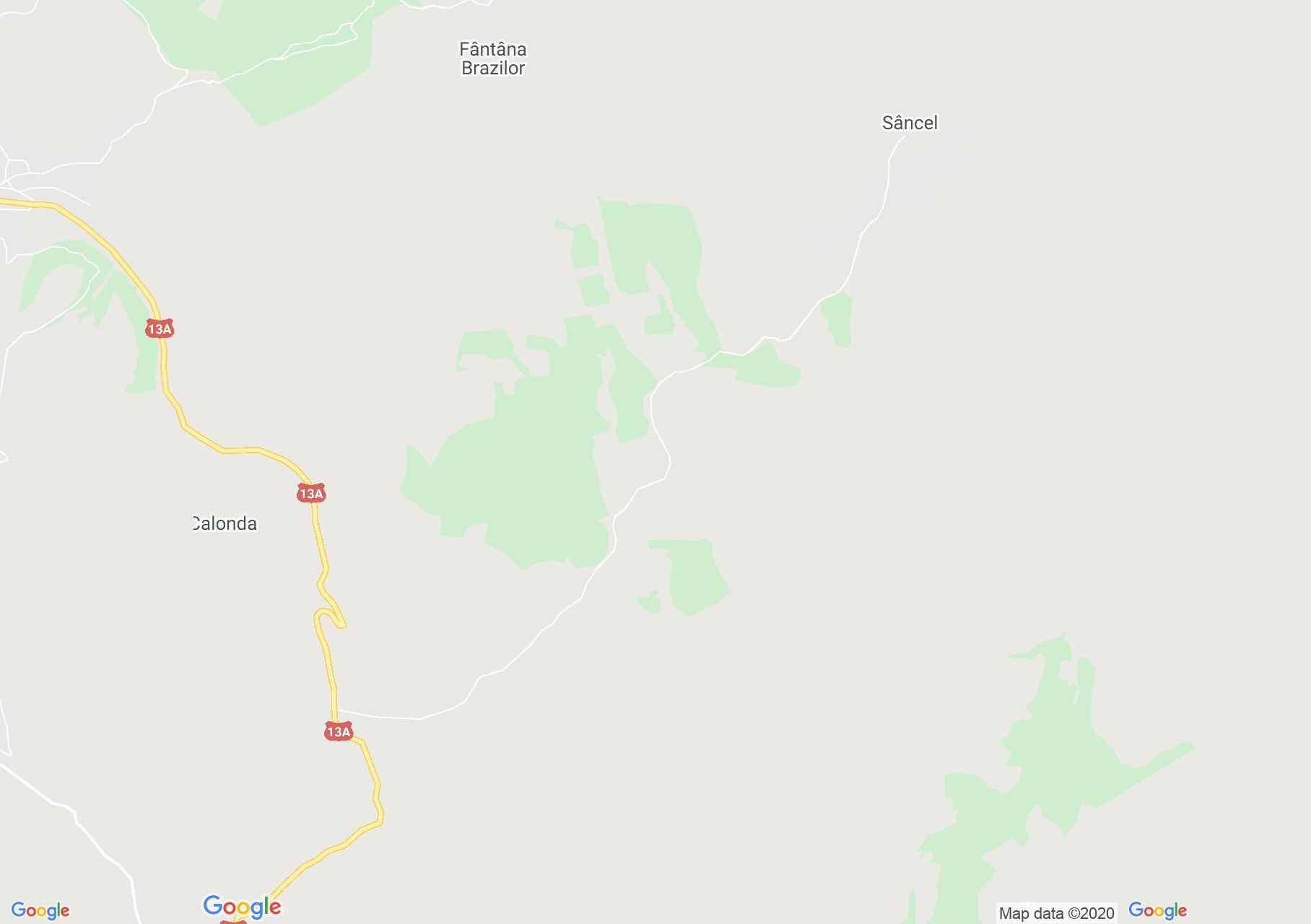 Sancel, Harta turistică interactivă