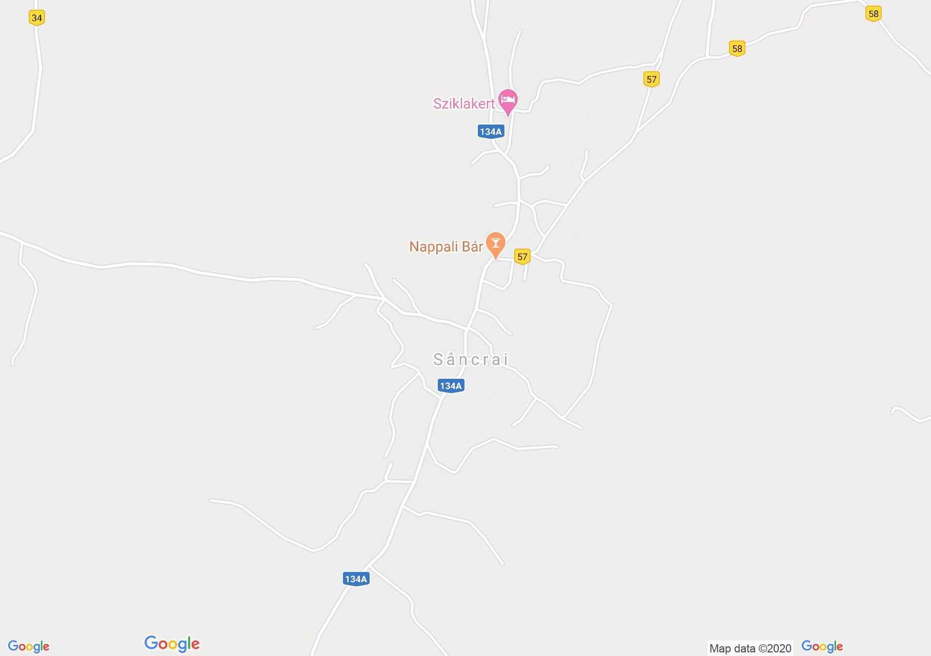 Sâncrai, Interactive tourist map
