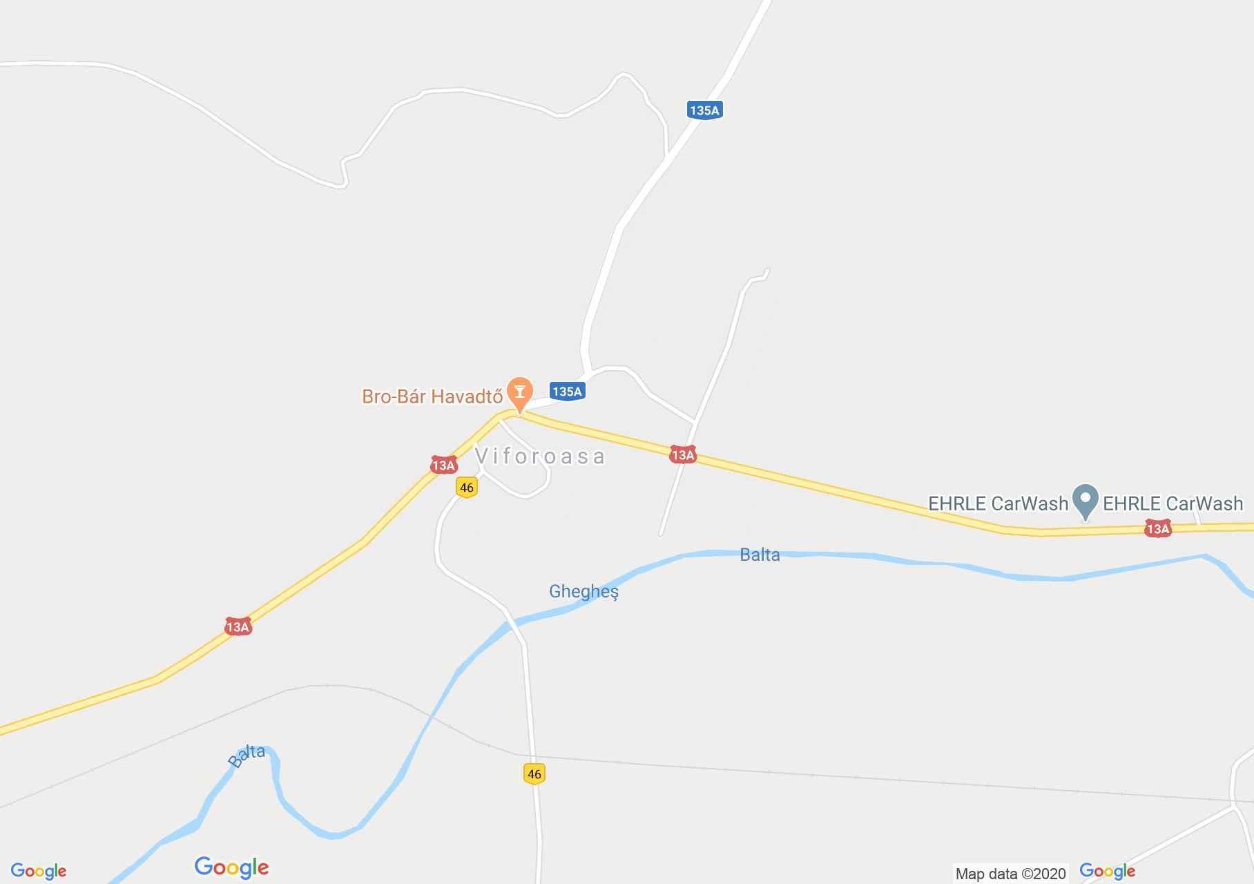 Viforoasa, Interactive tourist map
