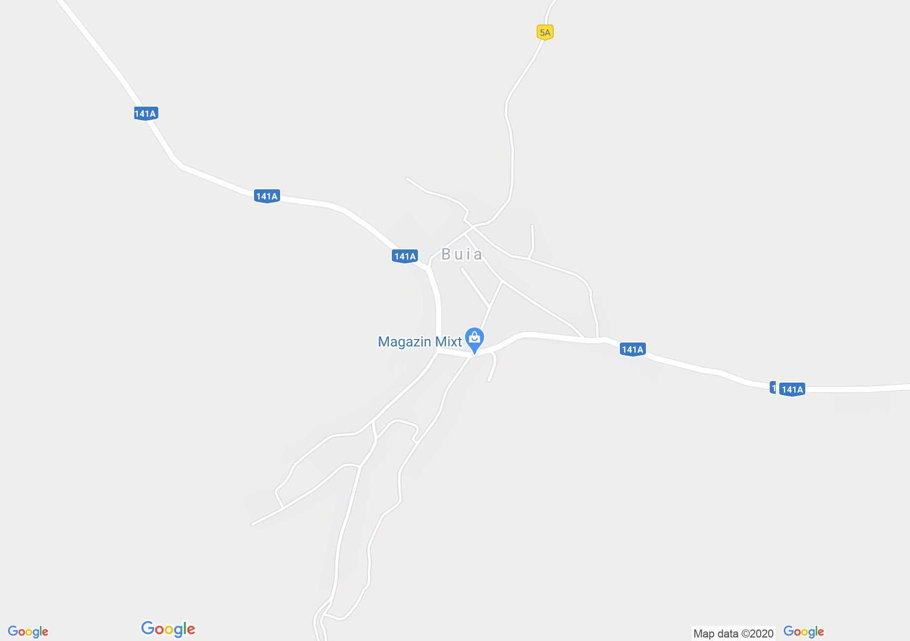 Buia, Interactive tourist map