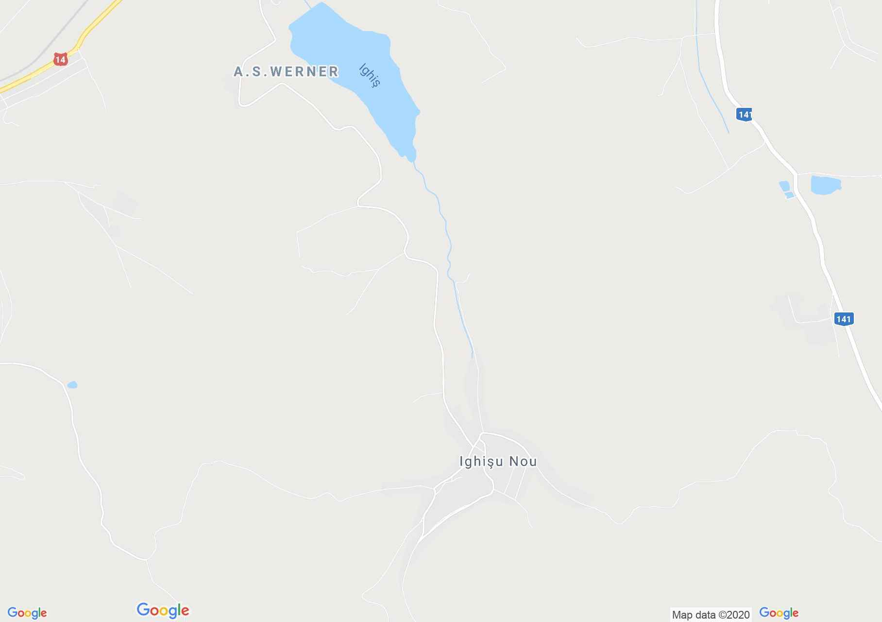 Szászivánfalva interaktív turista térképe.