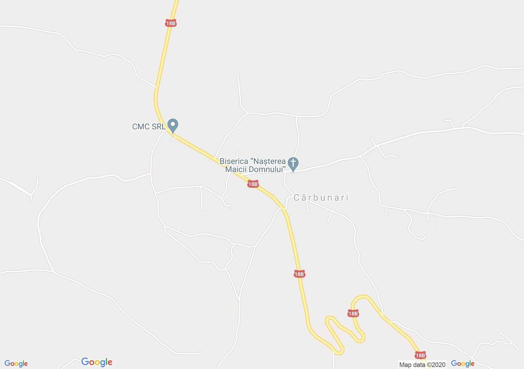 Cărbunari, Harta turistică interactivă