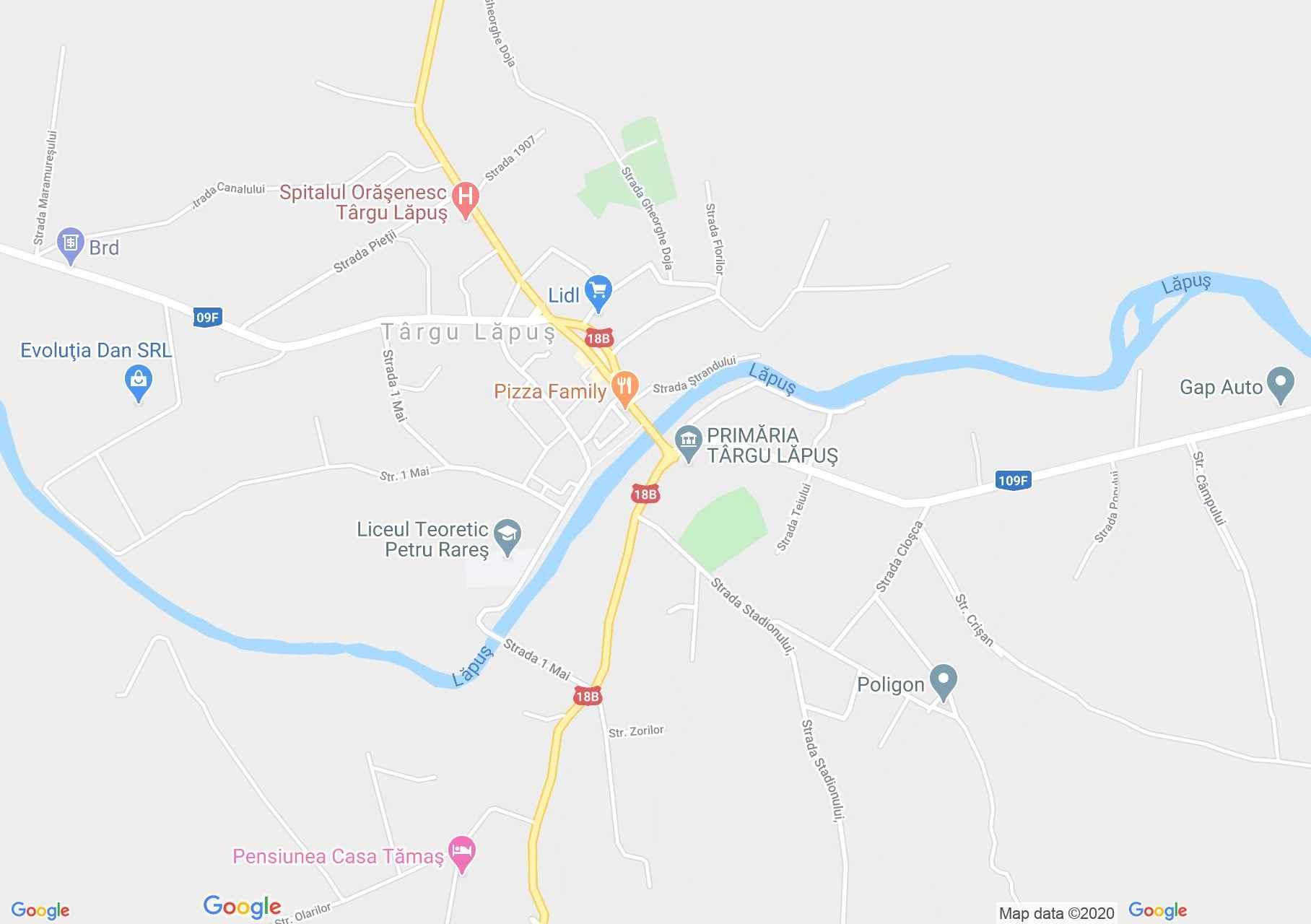 Magyarlápos interaktív turista térképe.