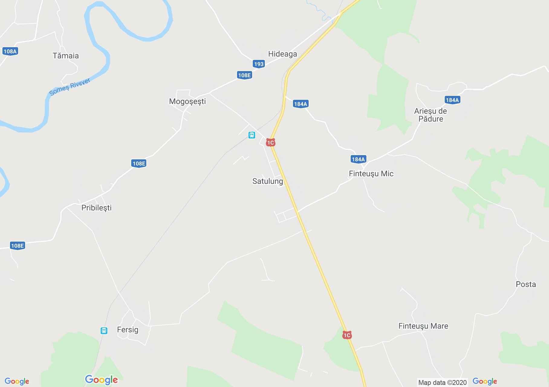 Satulung, Harta turistică interactivă