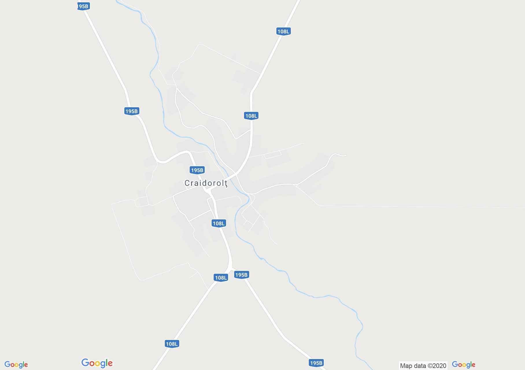 Craidorolţ, Harta turistică interactivă