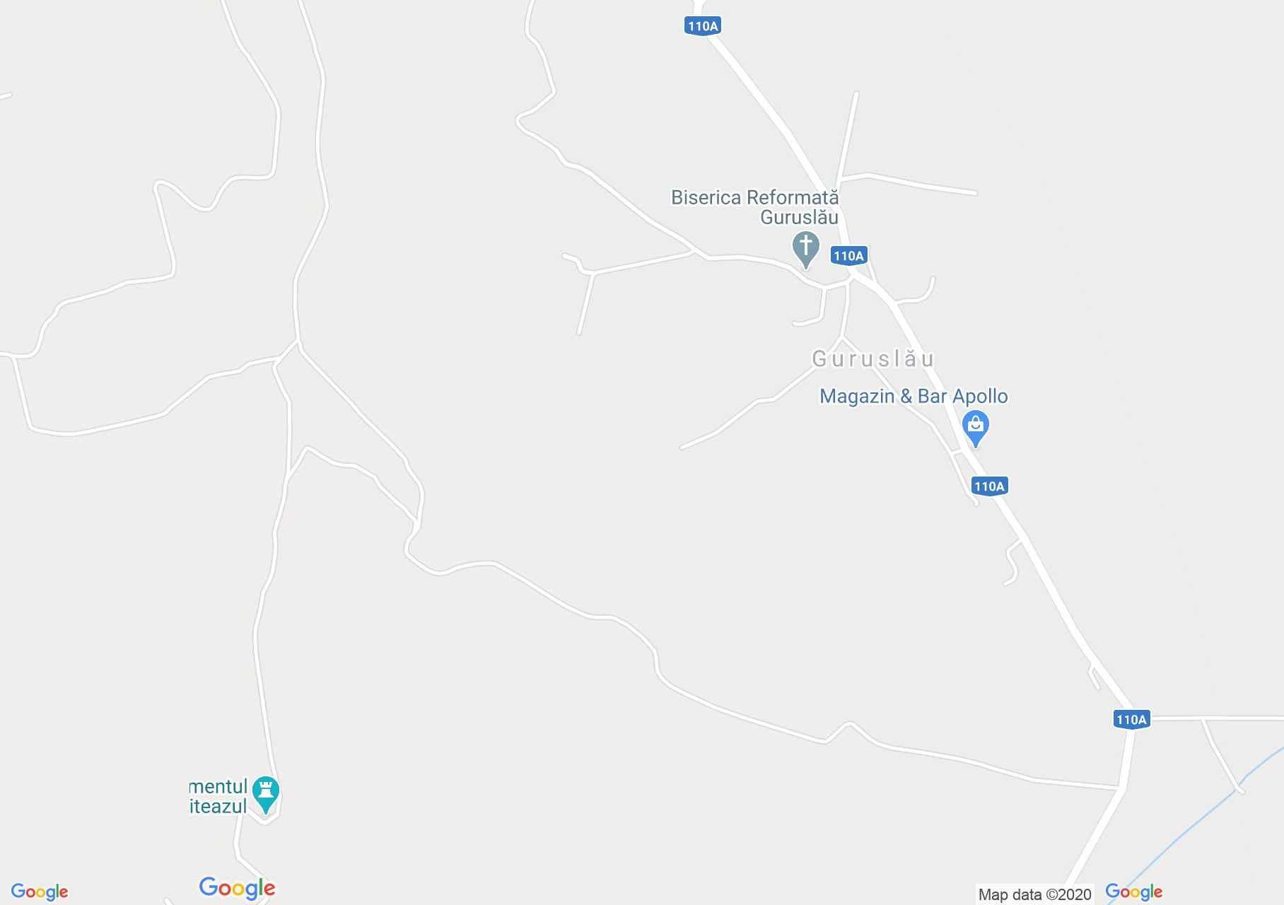 Magyargoroszló interaktív turista térképe.
