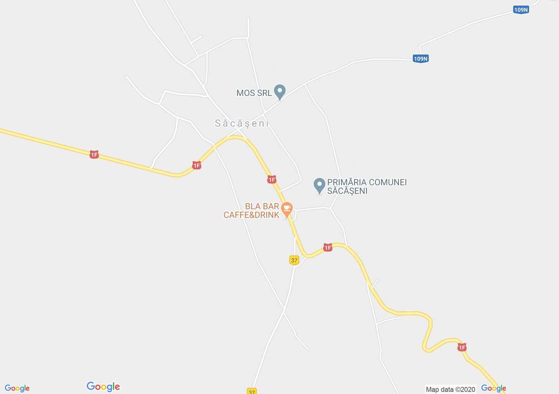 Érszakácsi interaktív turista térképe.