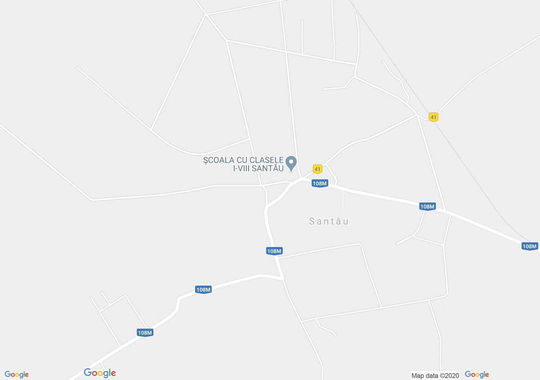 Santău, Harta turistică interactivă