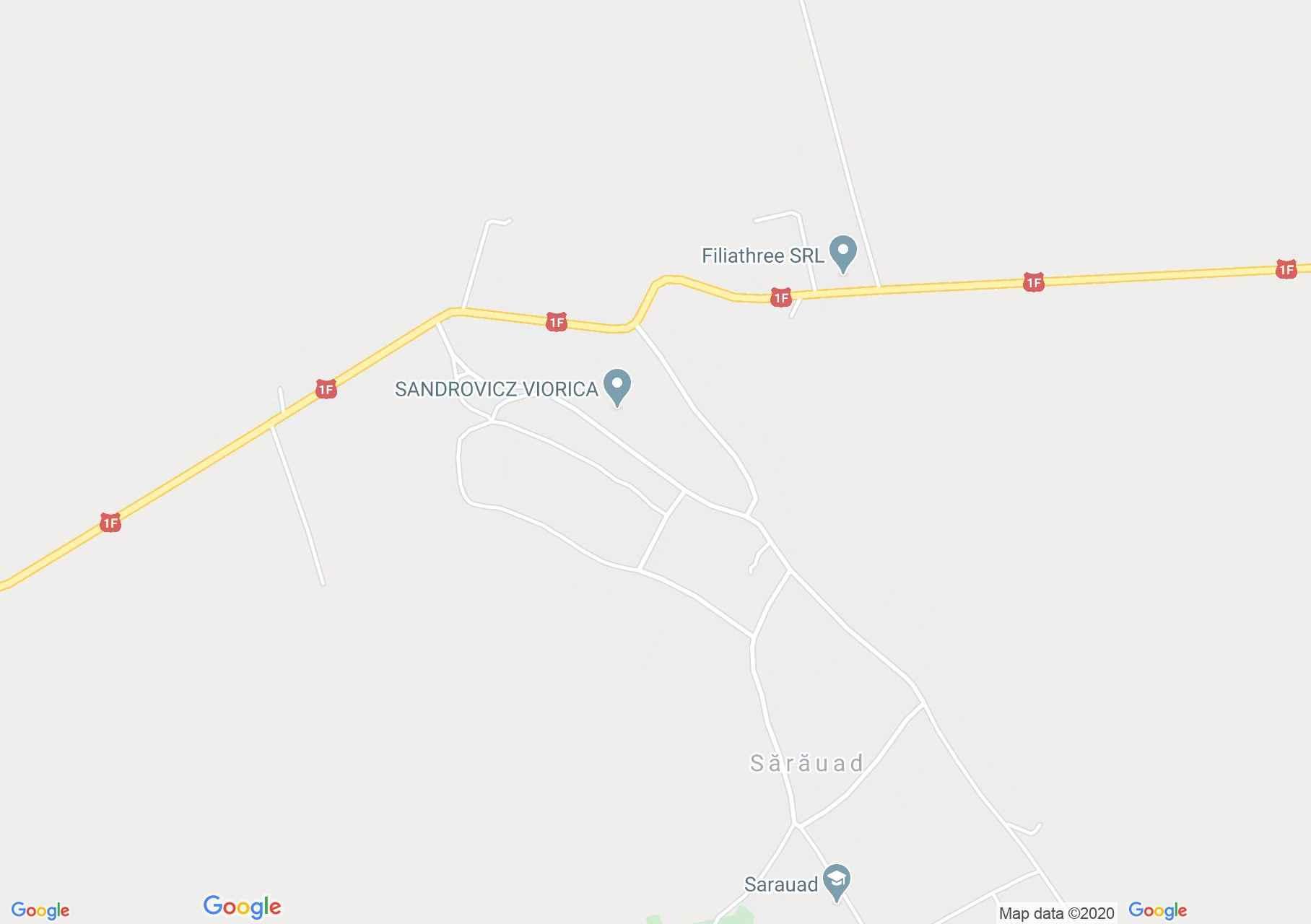 Tasnádszarvad interaktív turista térképe.