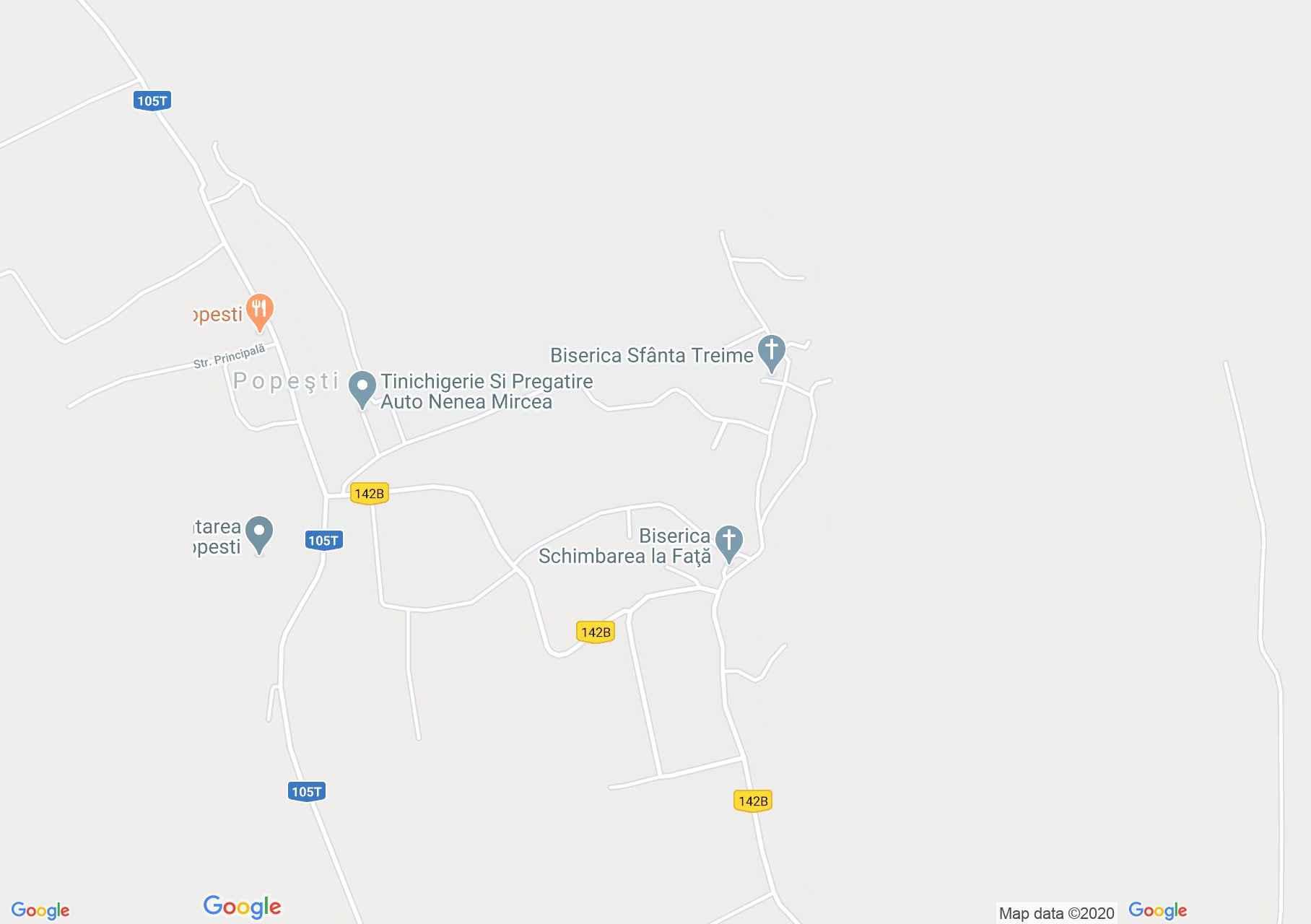 Nádaspapfalva interaktív turista térképe.