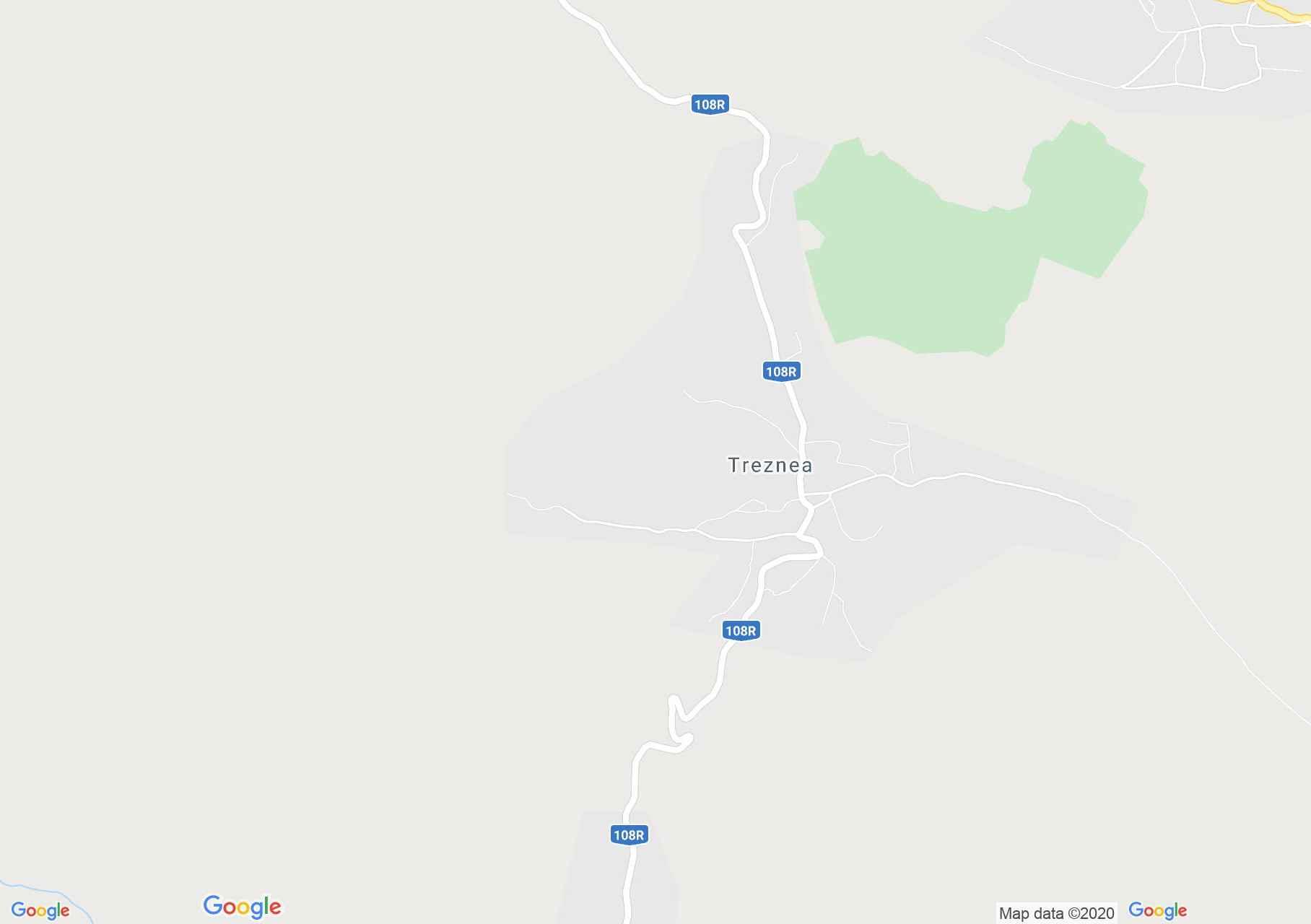 Treznea, Harta turistică interactivă