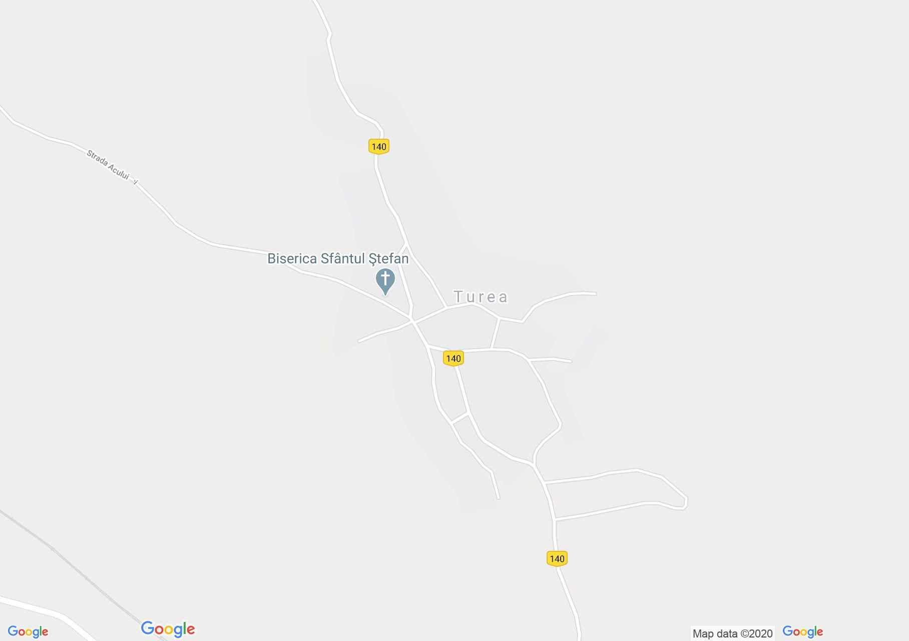 Turea, Interactive tourist map