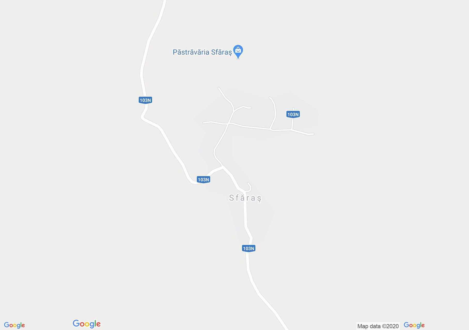 Sfăraş, Harta turistică interactivă