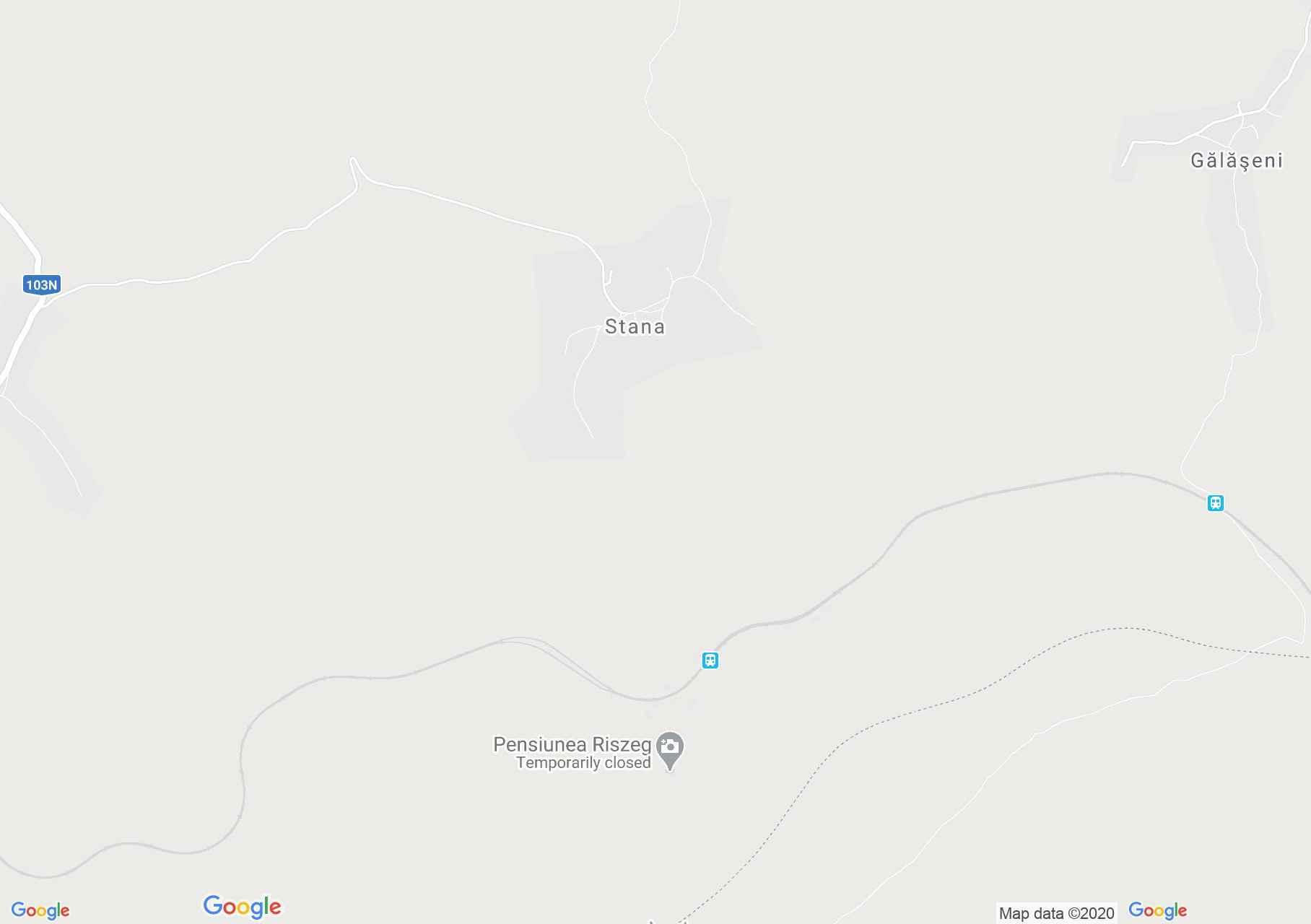 Stana, Harta turistică interactivă