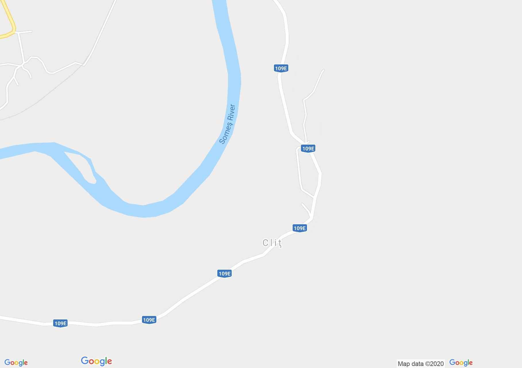 Cliţ, Harta turistică interactivă
