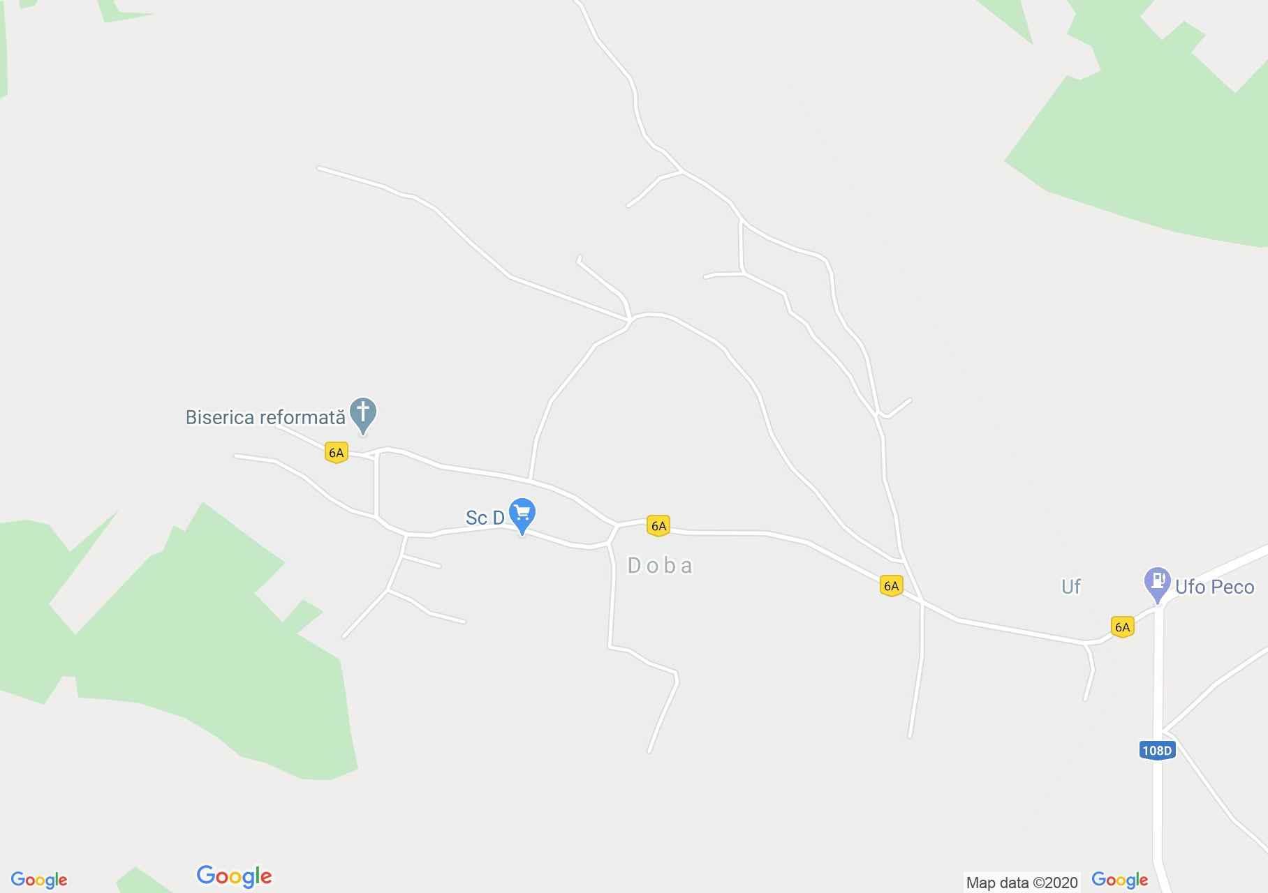 Doba, Interactive tourist map
