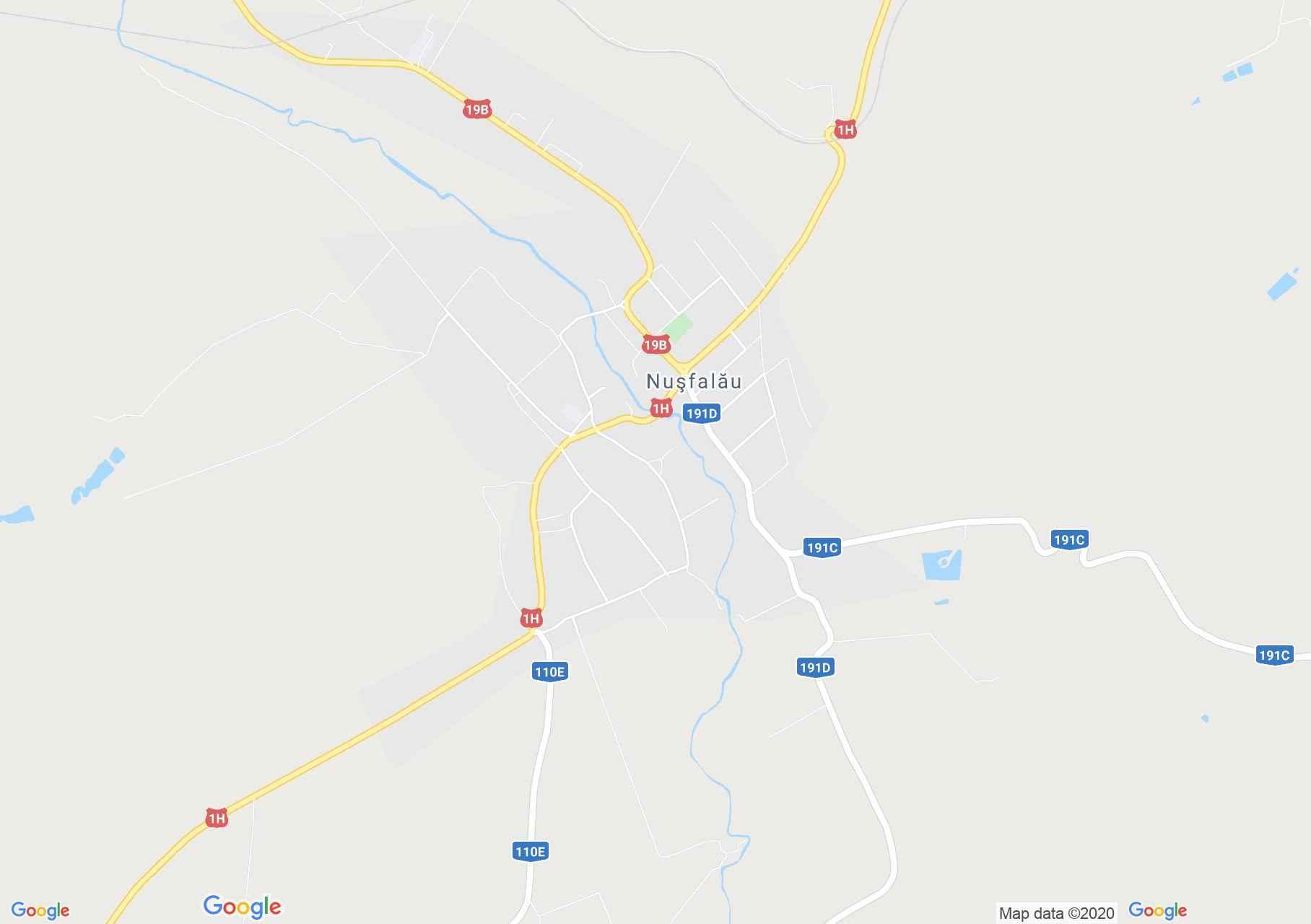 Nuşfalău, Interactive tourist map