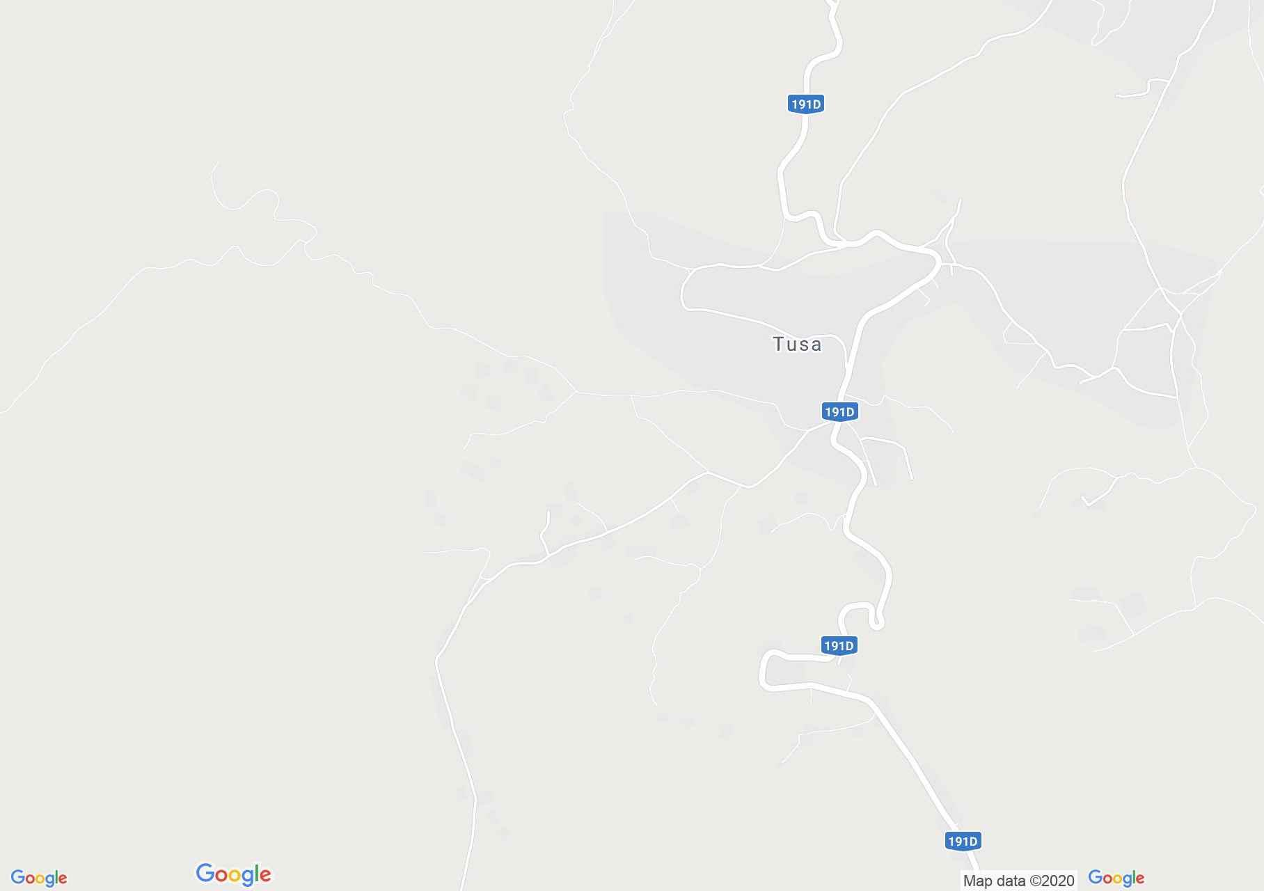 Tusa, Harta turistică interactivă