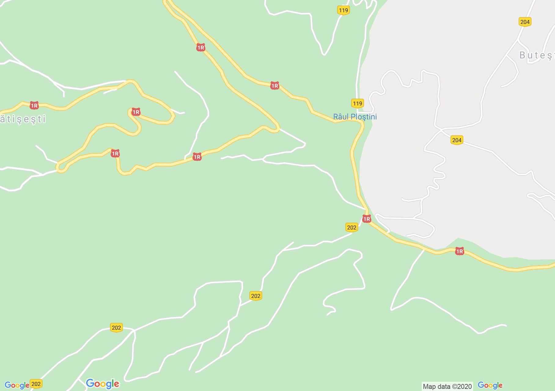 Mătişeşti interaktív turista térképe.