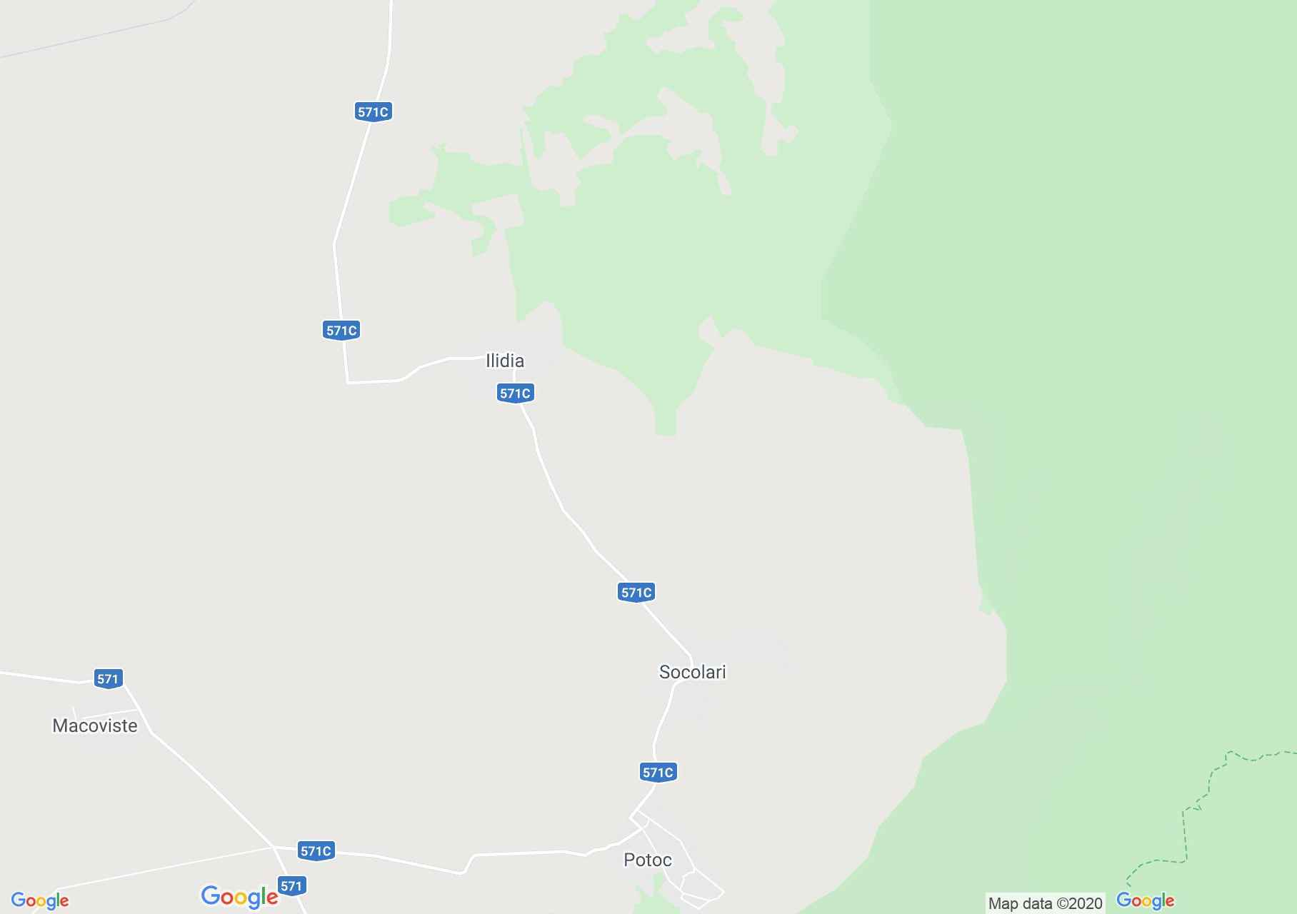Ilidia, Harta turistică interactivă