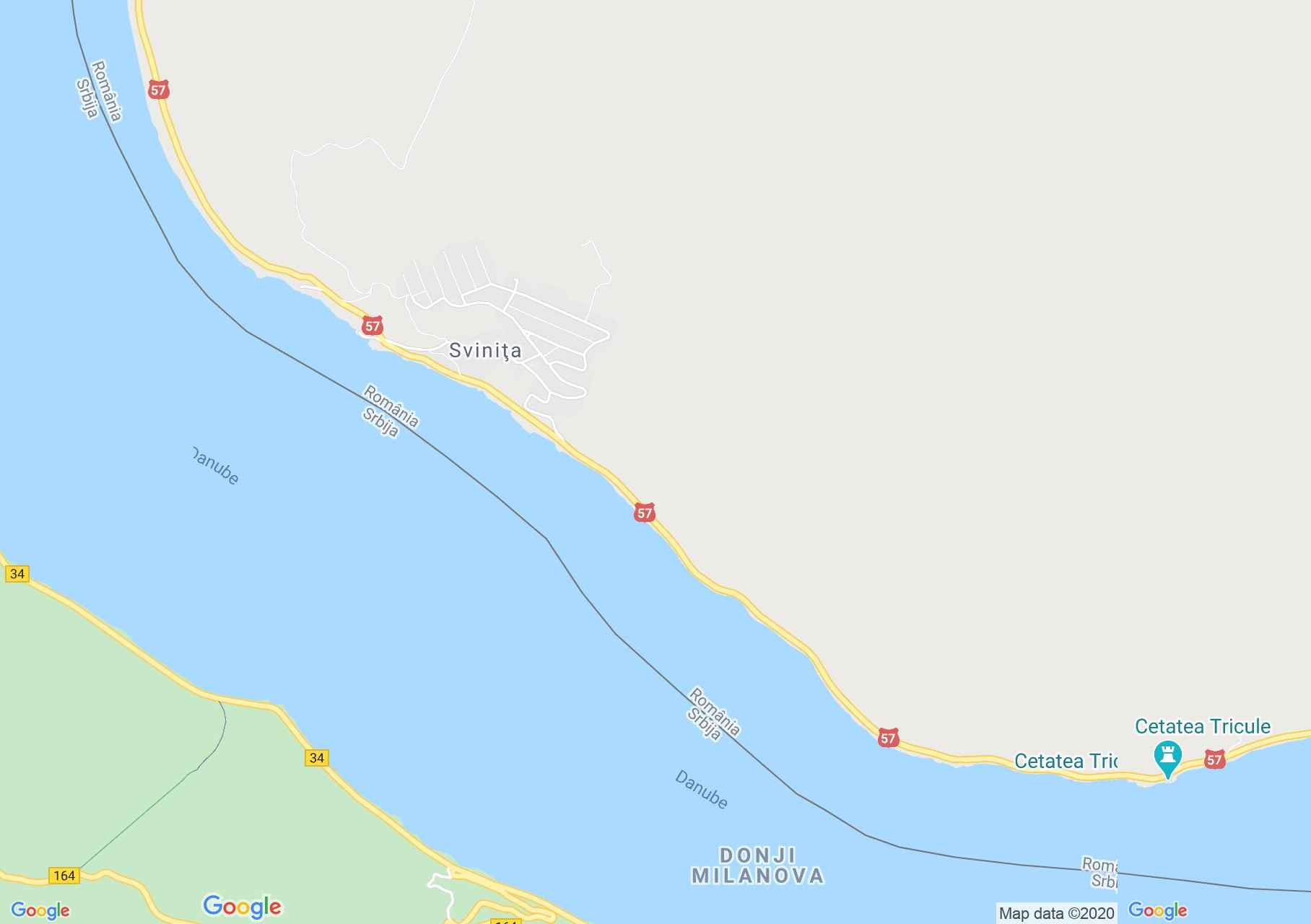 Harta turistică interactivă a României pe Google Map