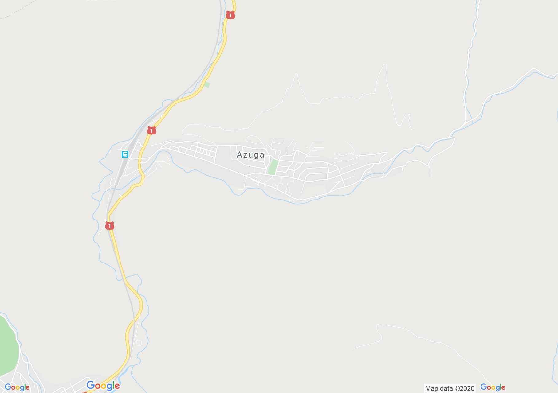 Azuga, Harta turistică interactivă