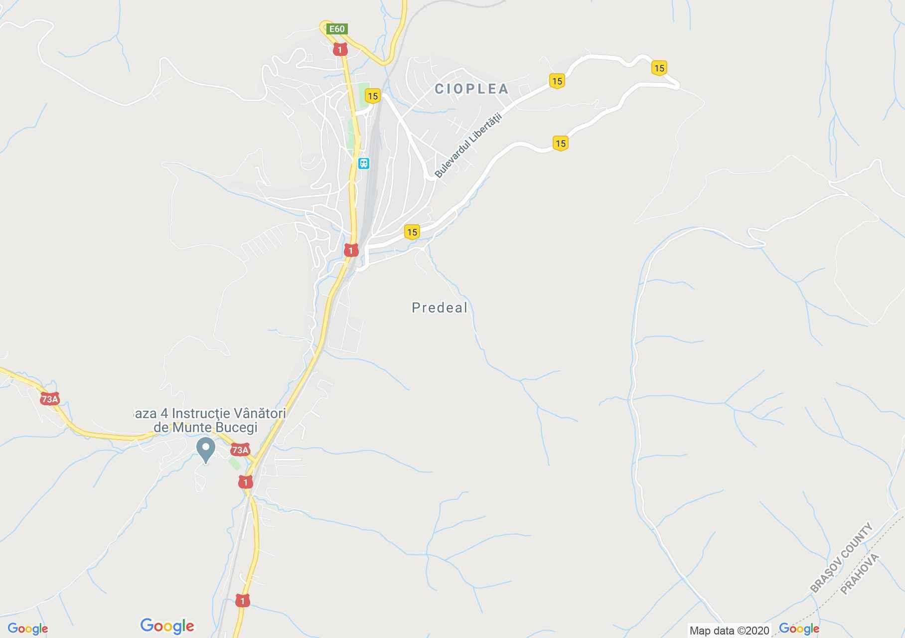 Predal, Harta turistică interactivă