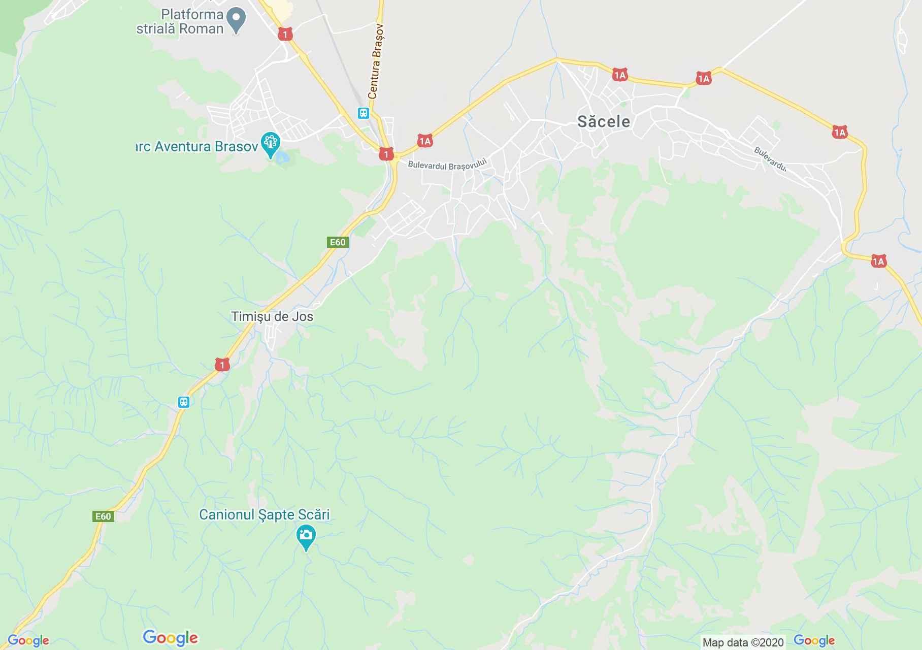 Szecseleváros interaktív turista térképe.