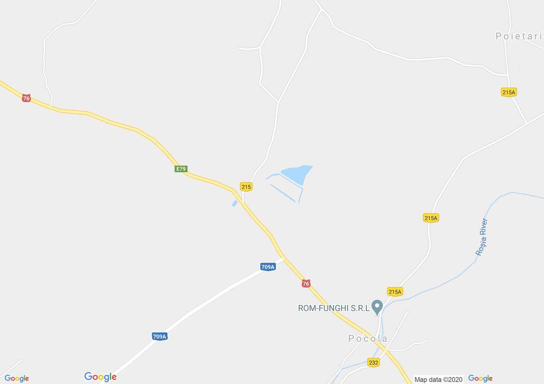 Pocola, Harta turistică interactivă