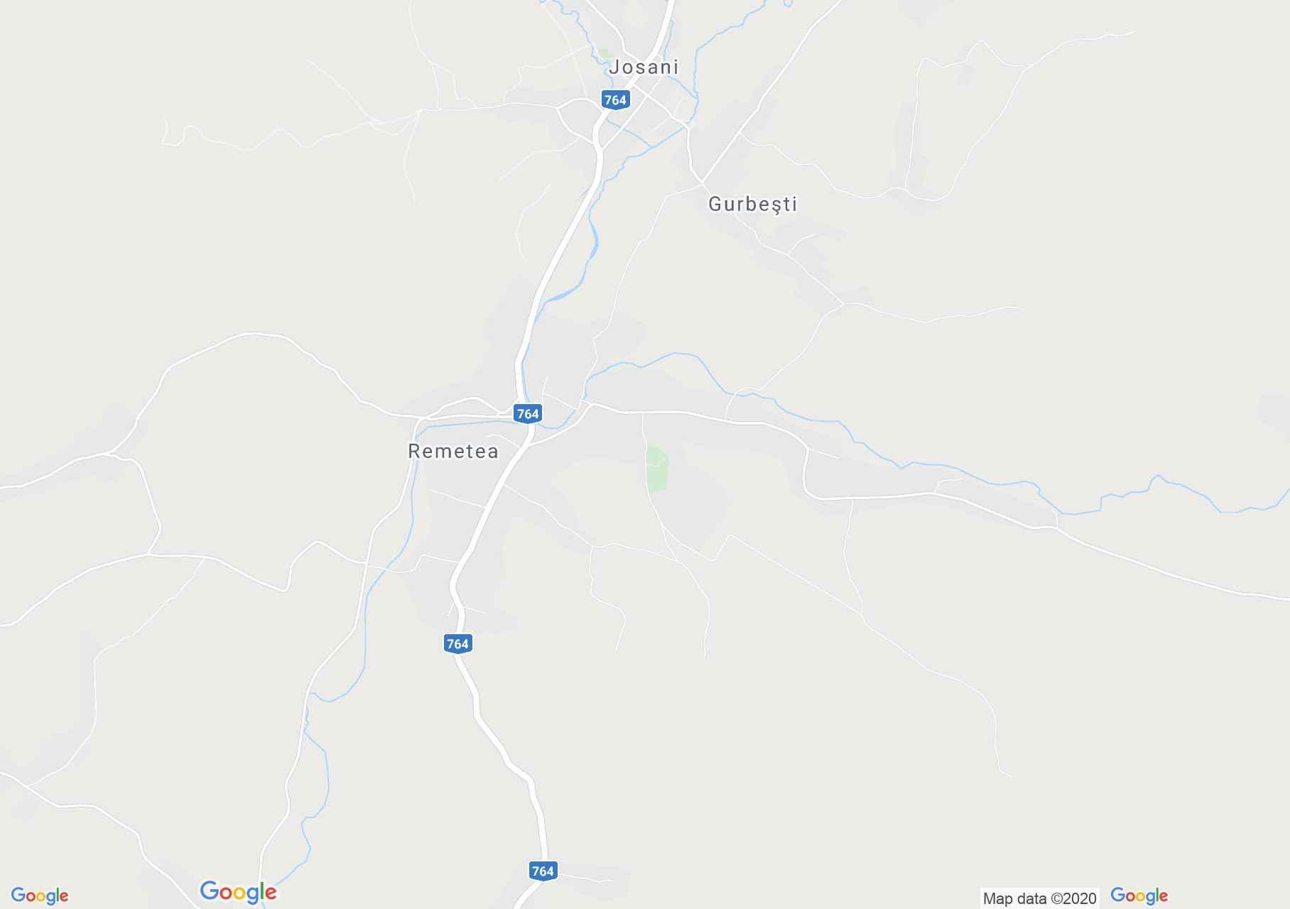 Remetea, Interactive tourist map