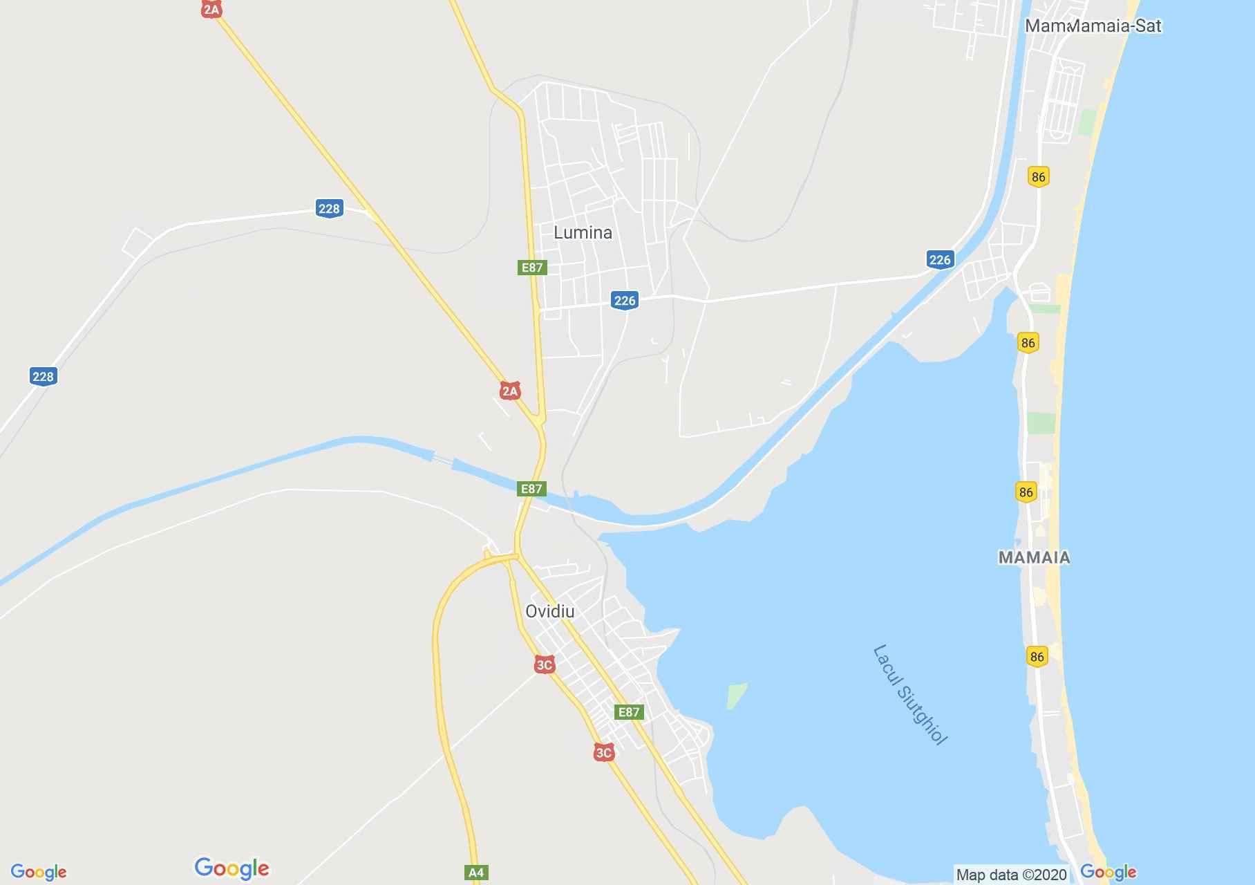 Mamaia, Interactive tourist map