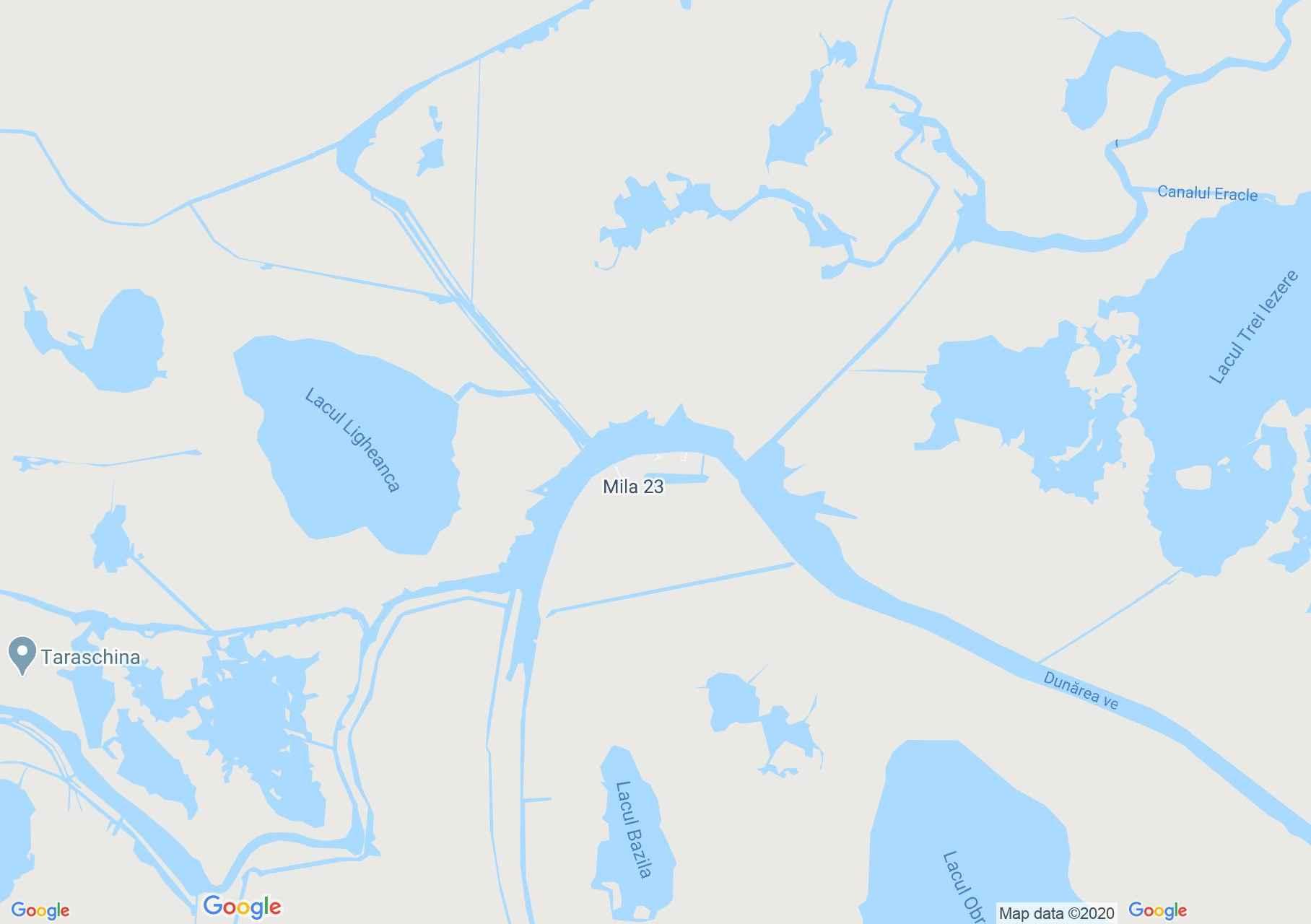 Mila 23, Harta turistică interactivă