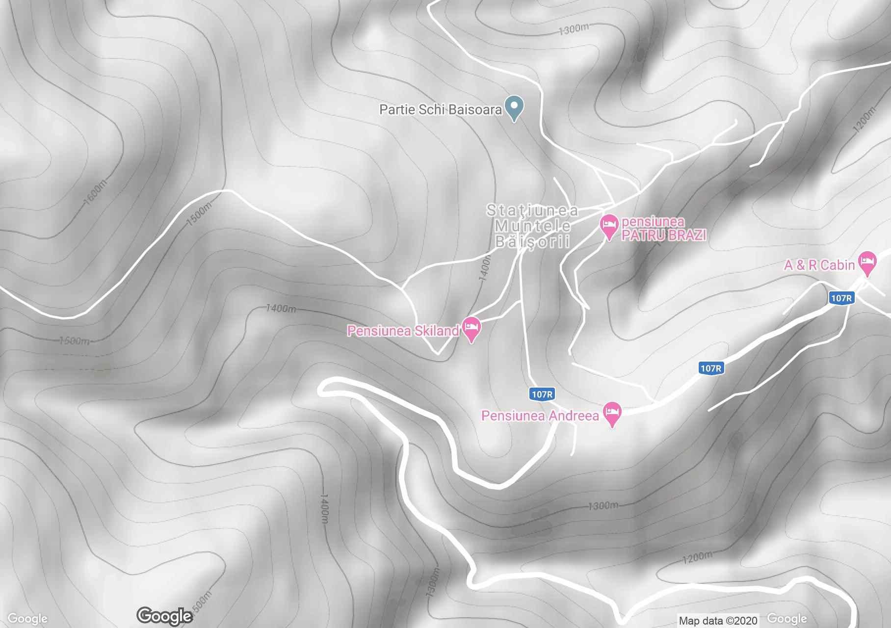 Kisbányahavas interaktív turista térképe.