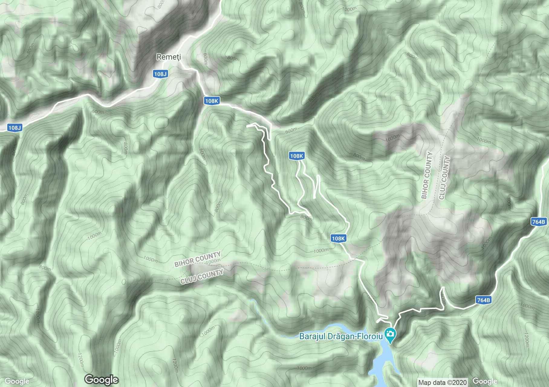 Remec interaktív turista térképe.
