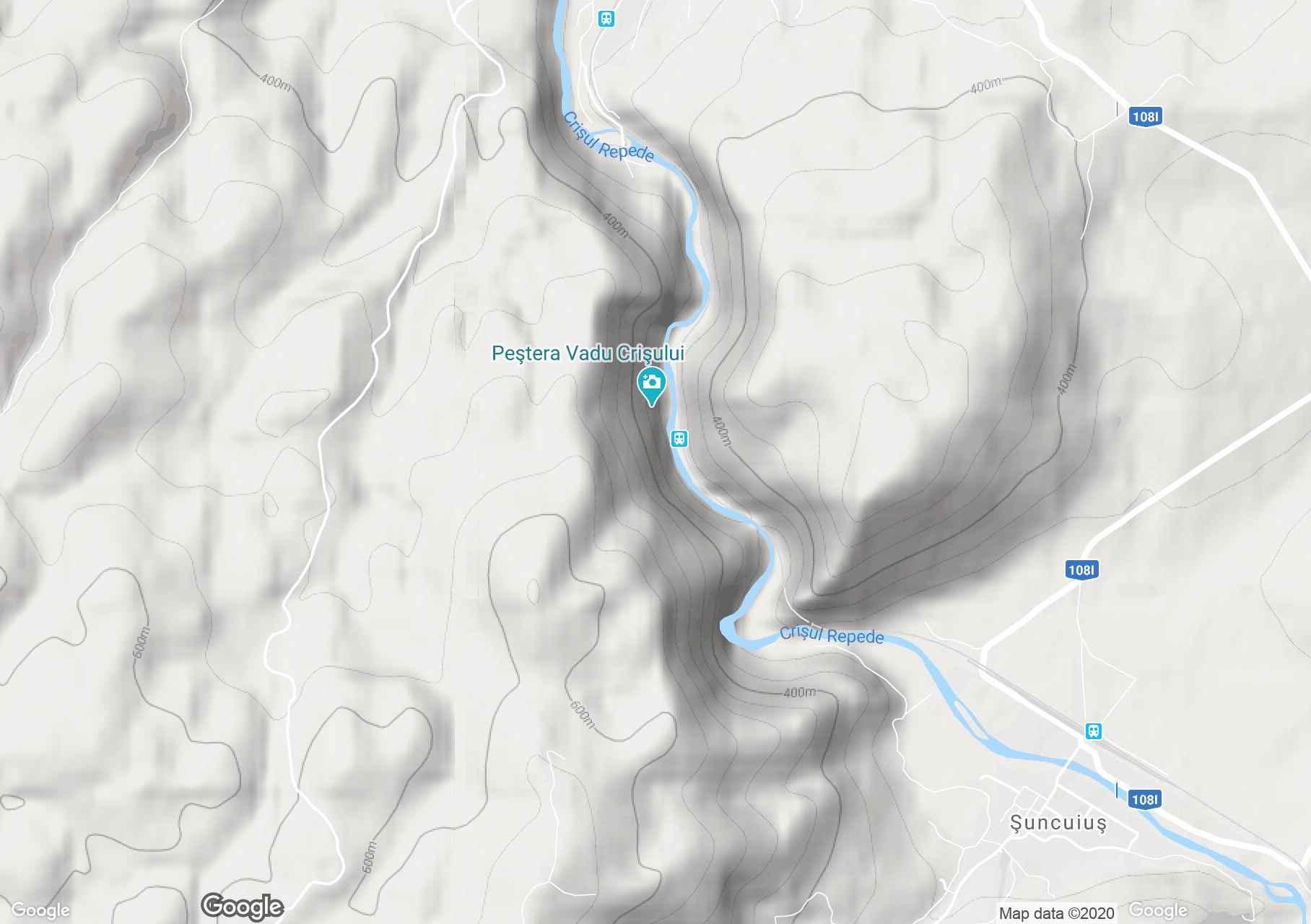 Vadu Crişului, Harta turistică interactivă