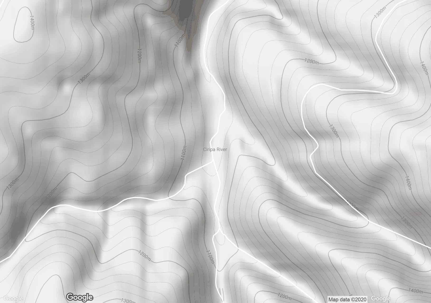 Ciripa, Harta turistică interactivă