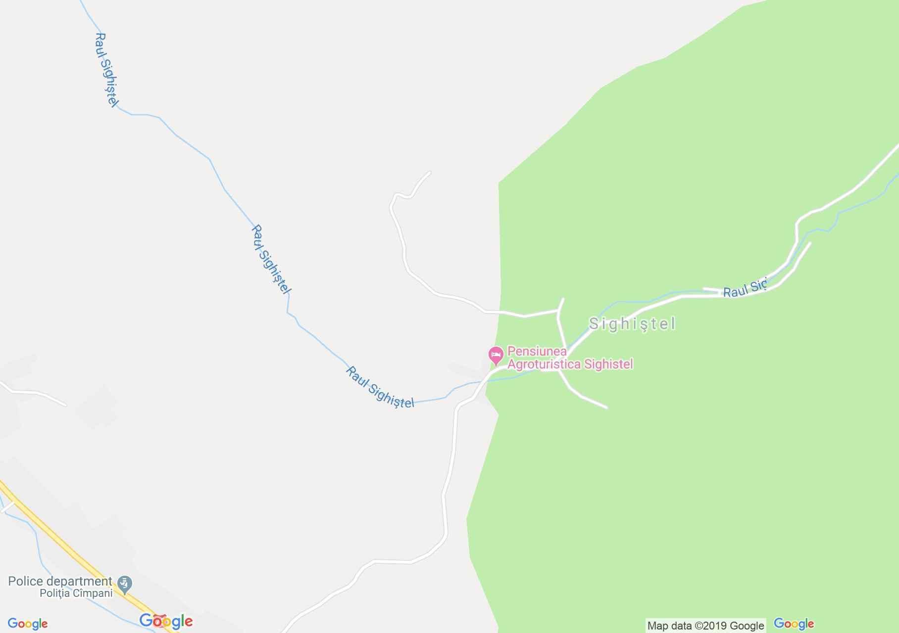 Bihar-Vlegyásza, Erdélyi-szigethegység: Felsőmezős - Szegyesd völgyön - DN75 (térkép)