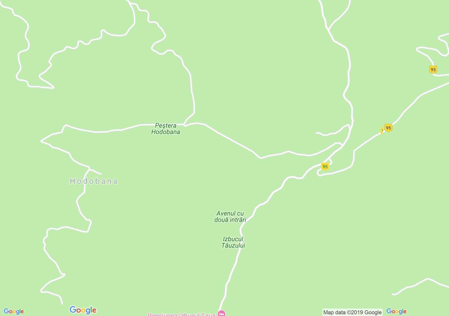 Map of Casa de Piatră: Tauz emergence