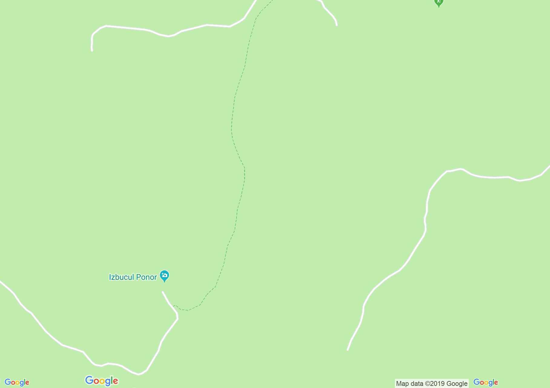 Hartă Bihor-Vlădeasa, Munţii Apuseni: Cabana Padiş - Lumea Pierdută