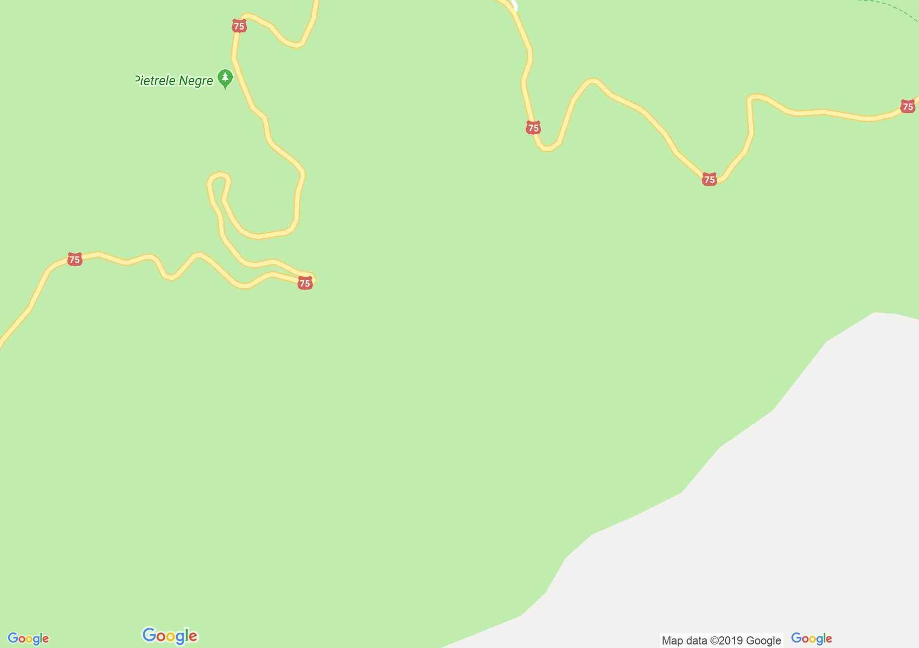 Rézbánya: Körös forrás barlang (térkép)