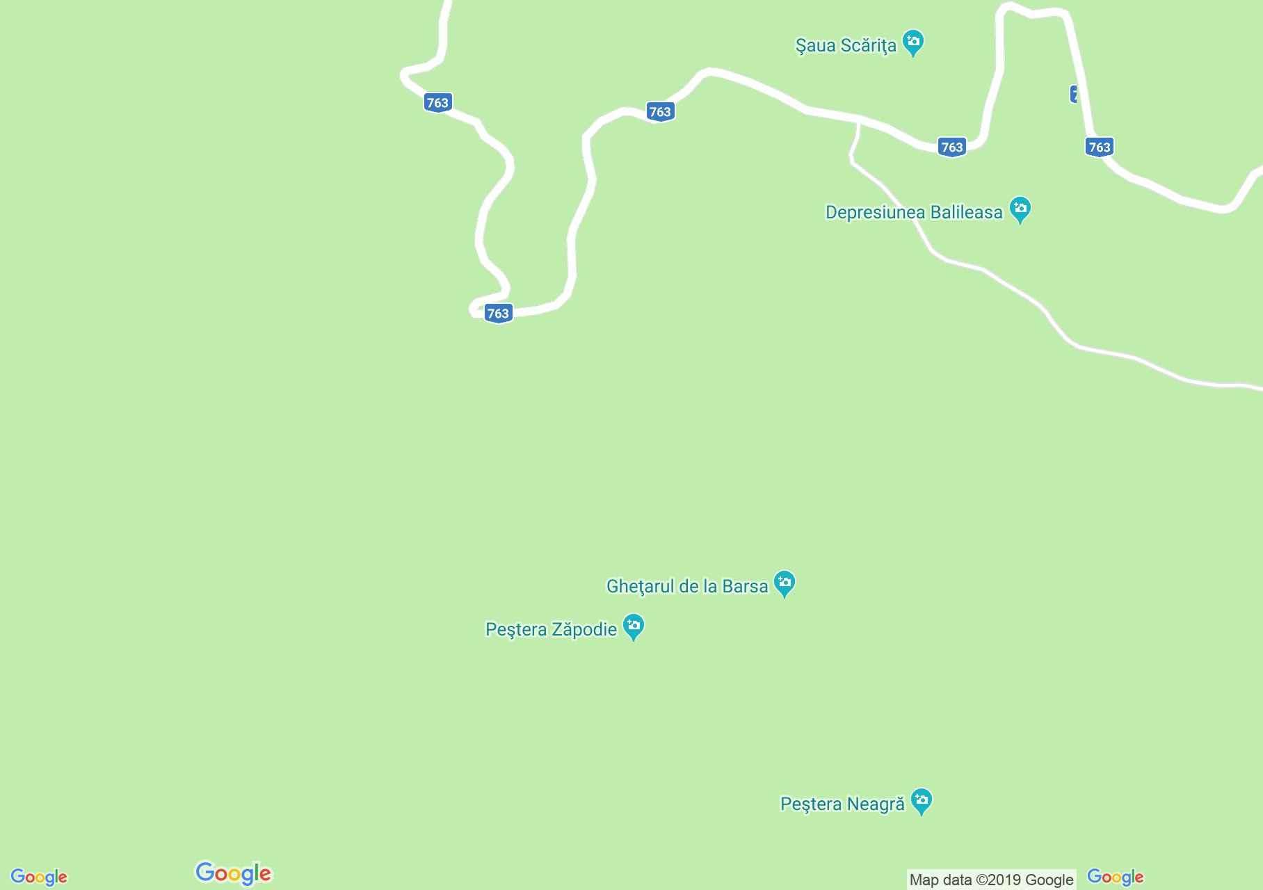 Glavoj: Zapogye barlang (térkép)