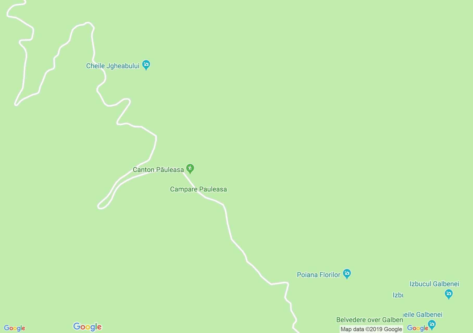 Hartă Bihor-Vlădeasa, Munţii Apuseni: Pietroasa-Arieşeni