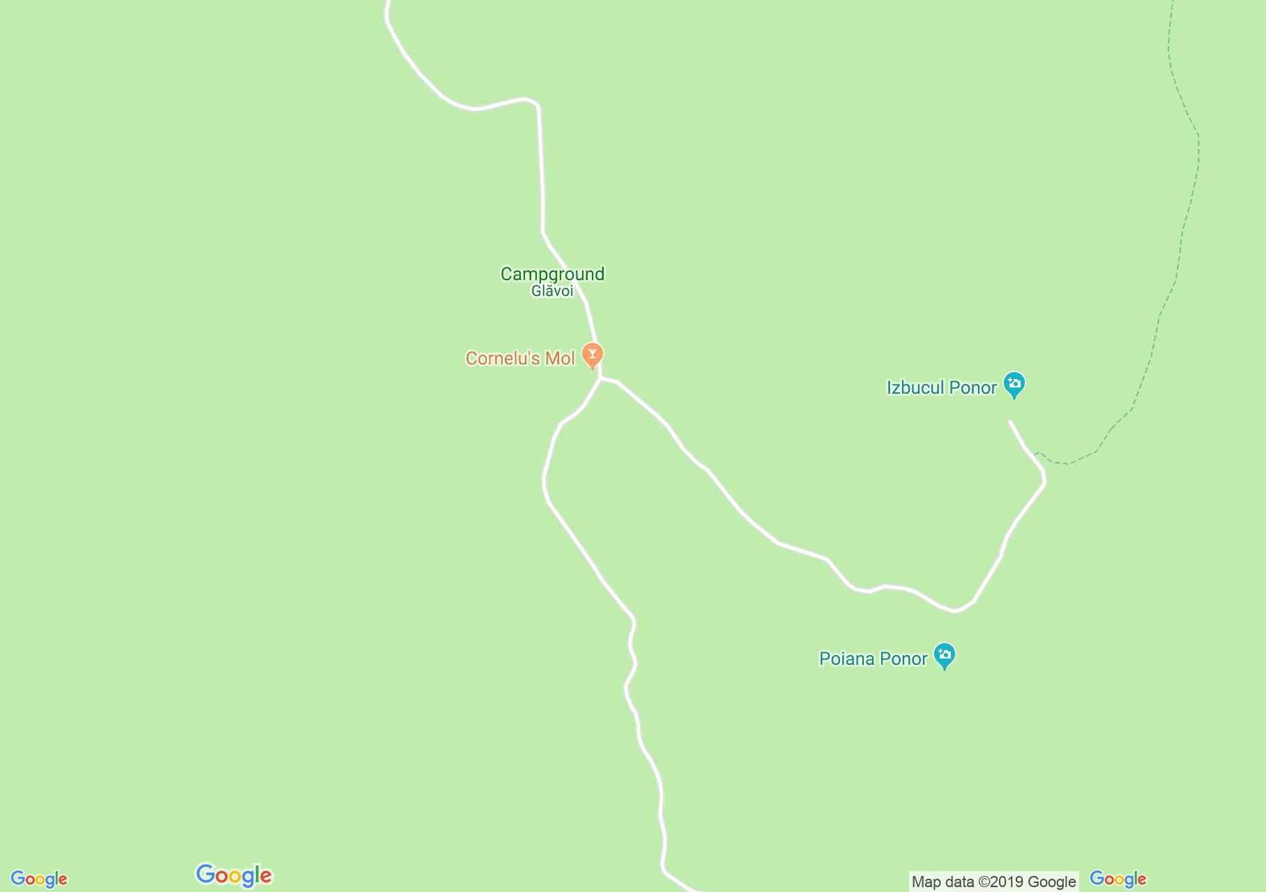 Glavoj: Csodavár völgy (térkép)